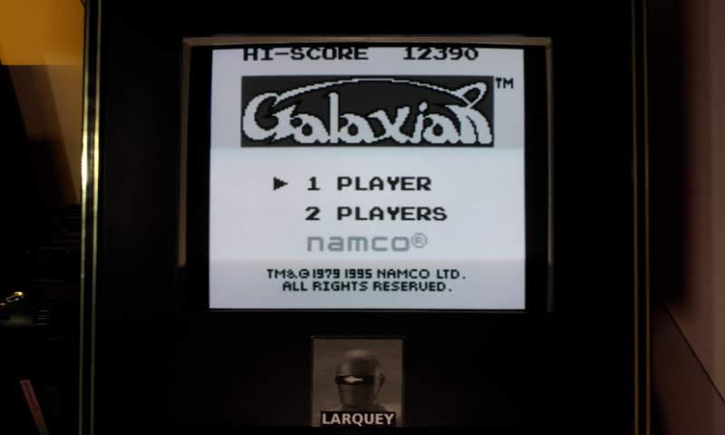 Larquey: Galaxian (Game Boy Emulated) 12,390 points on 2018-11-02 13:00:21