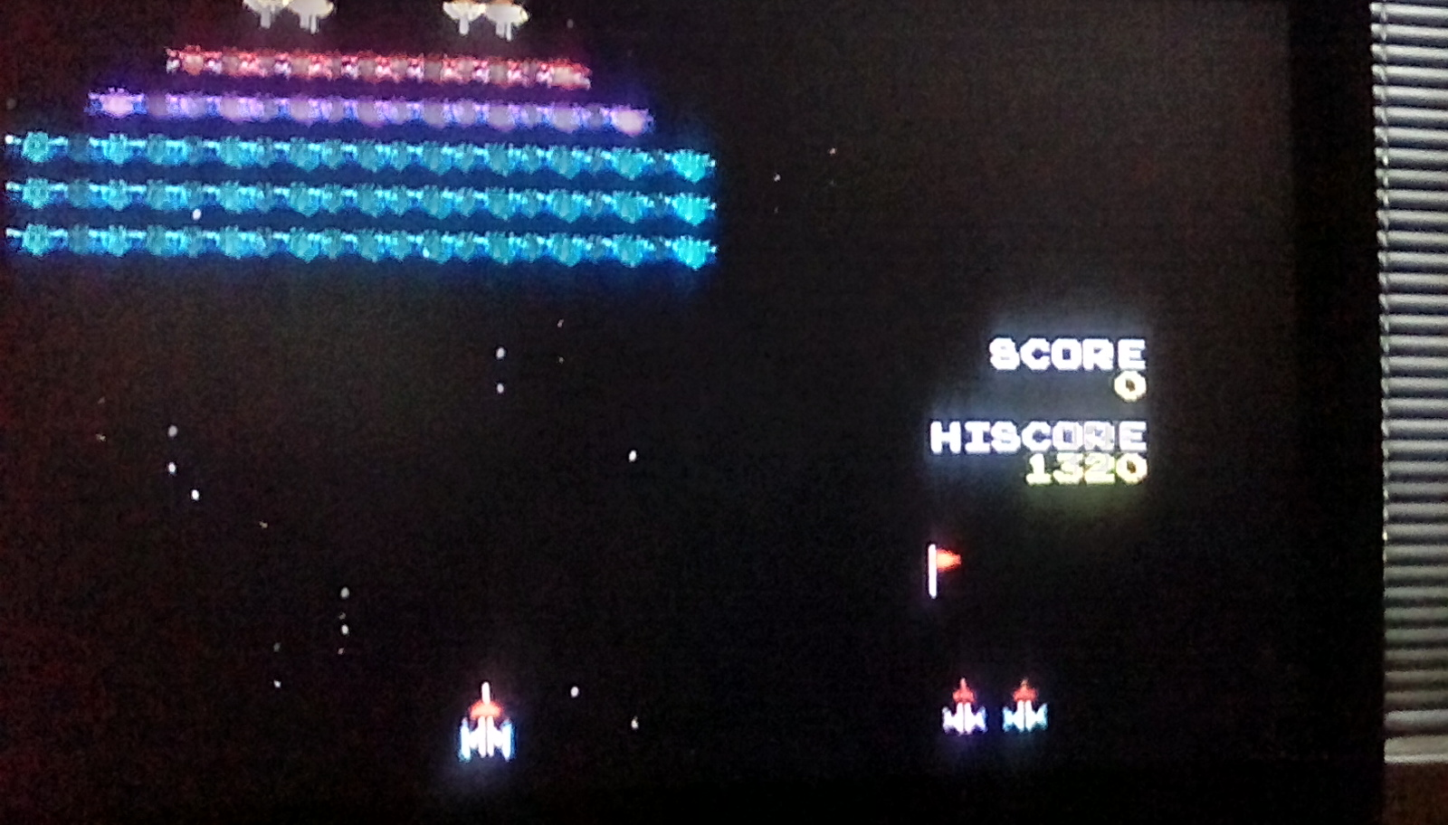 Galaxian 1,320 points