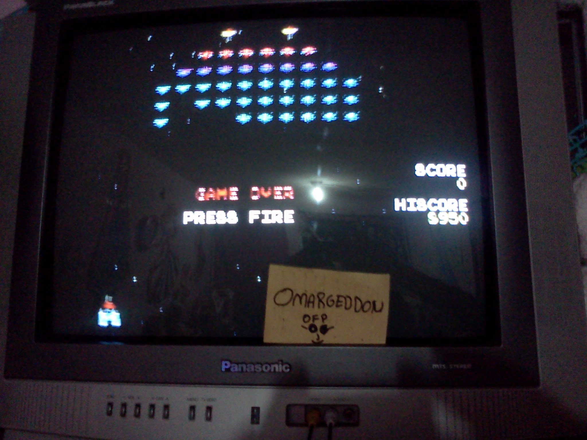 Galaxian 8,950 points