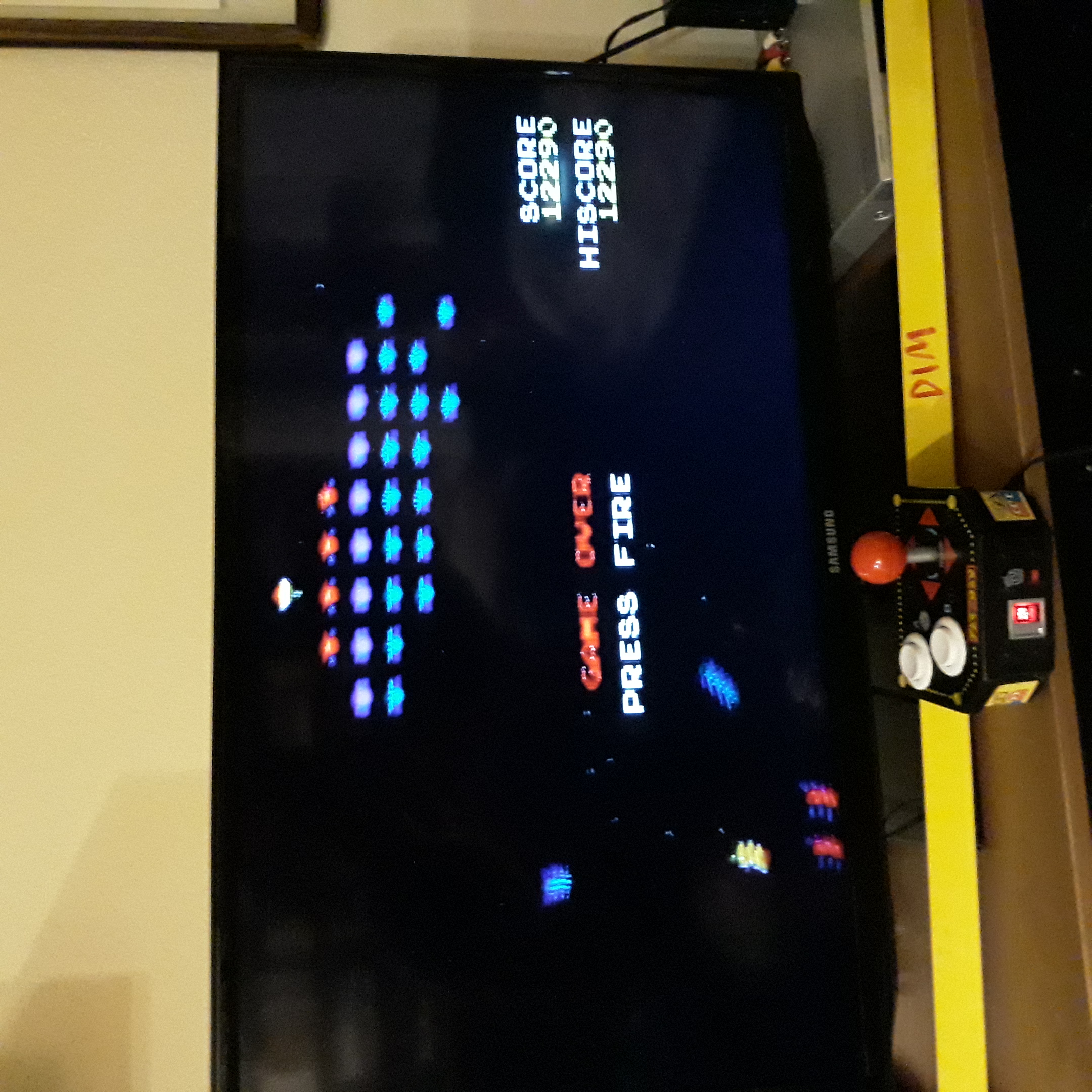 Galaxian 12,290 points