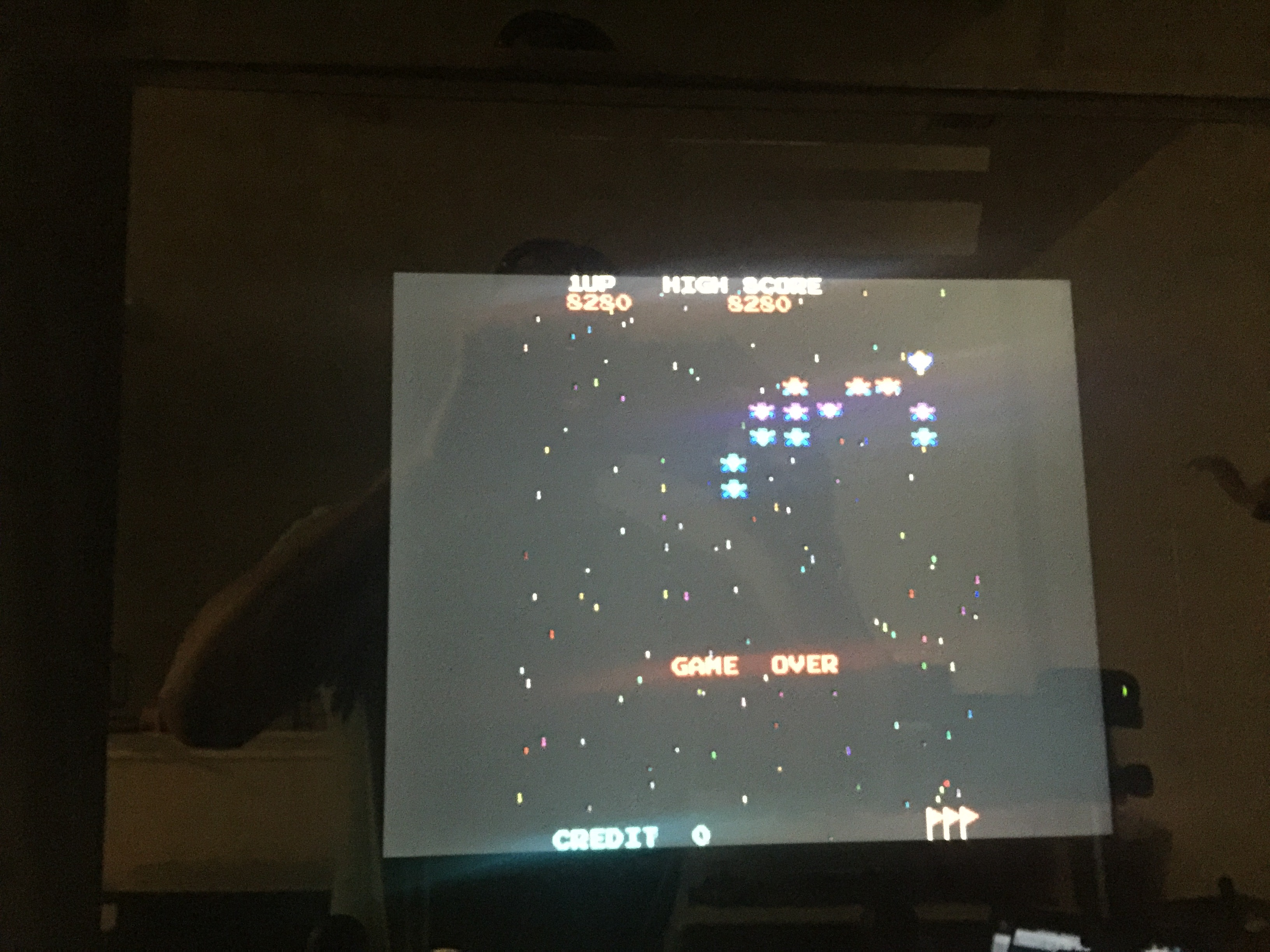 Galaxian 8,280 points