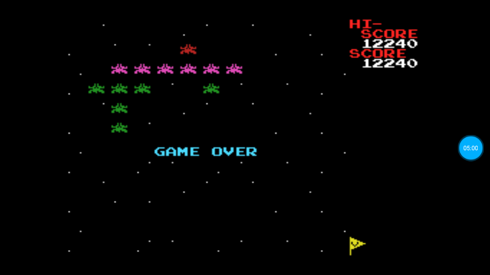 omargeddon: Galaxian (MSX Emulated) 12,240 points on 2018-07-12 12:57:23