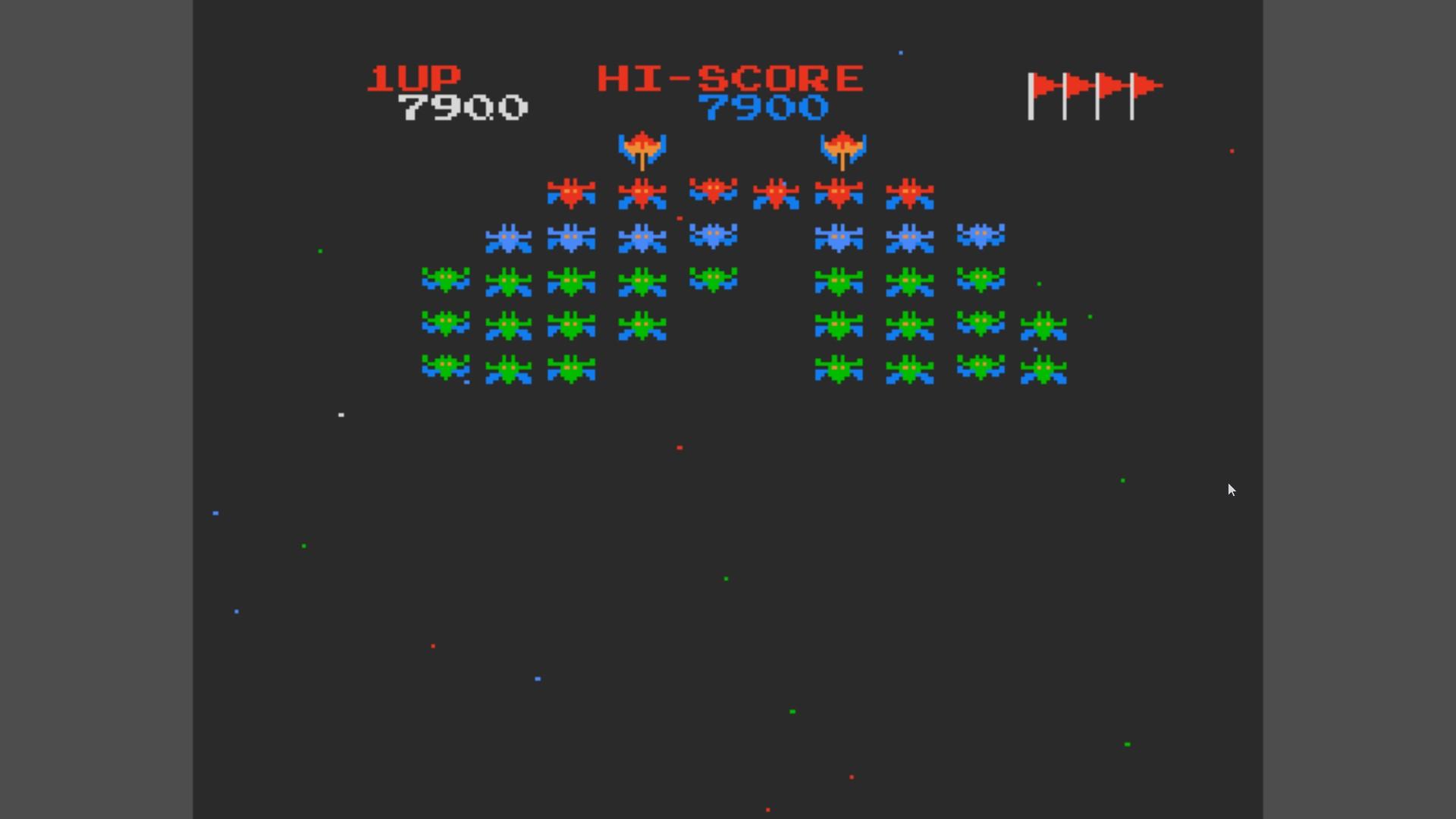 AkinNahtanoj: Galaxian (NES/Famicom Emulated) 7,900 points on 2020-10-17 14:09:17