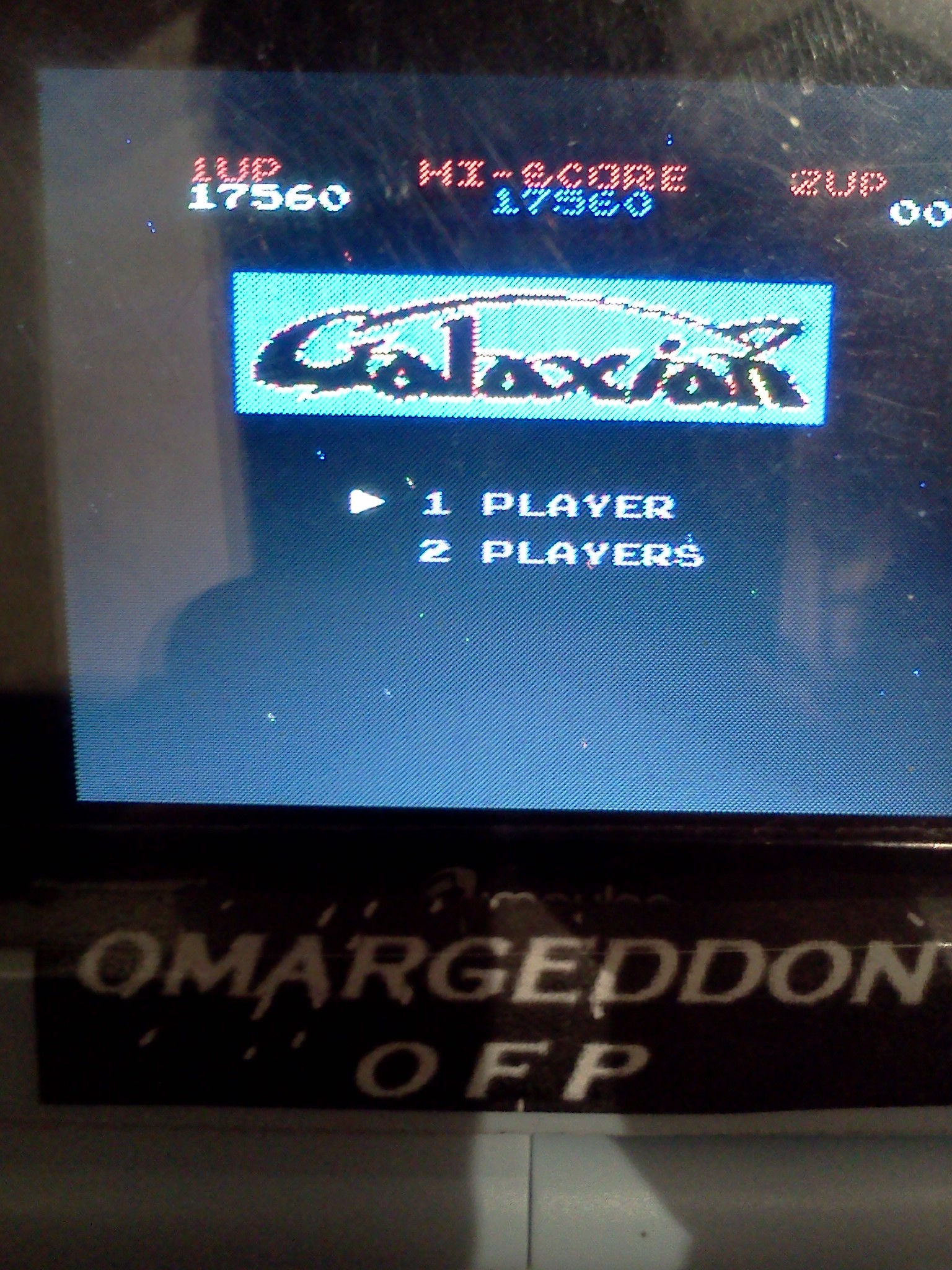 Galaxian 17,560 points