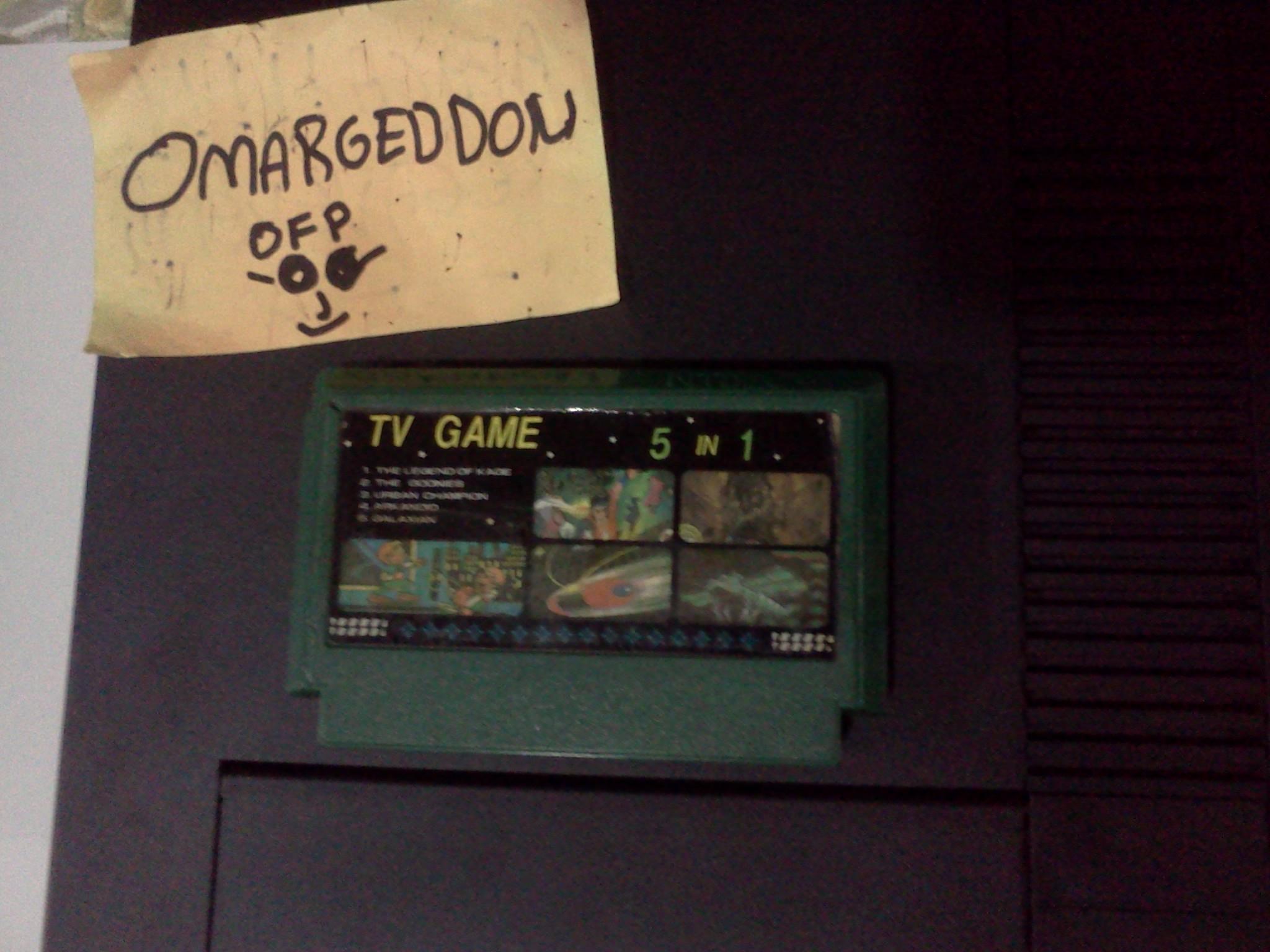 omargeddon: Galaxian (NES/Famicom) 22,840 points on 2016-08-26 02:20:52