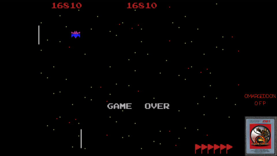 omargeddon: Galaxian: Novice (Colecovision Emulated) 16,810 points on 2017-03-24 02:37:32