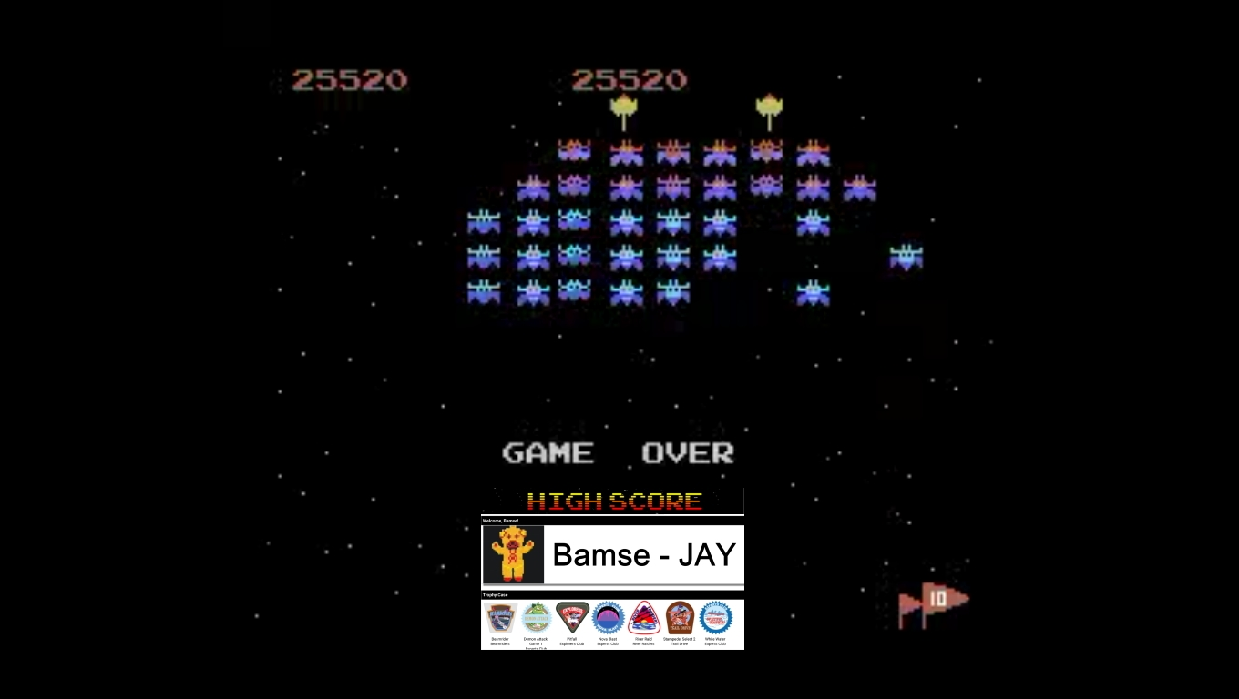Bamse: Galaxian: Novice (Colecovision Emulated) 25,520 points on 2020-03-05 09:56:38