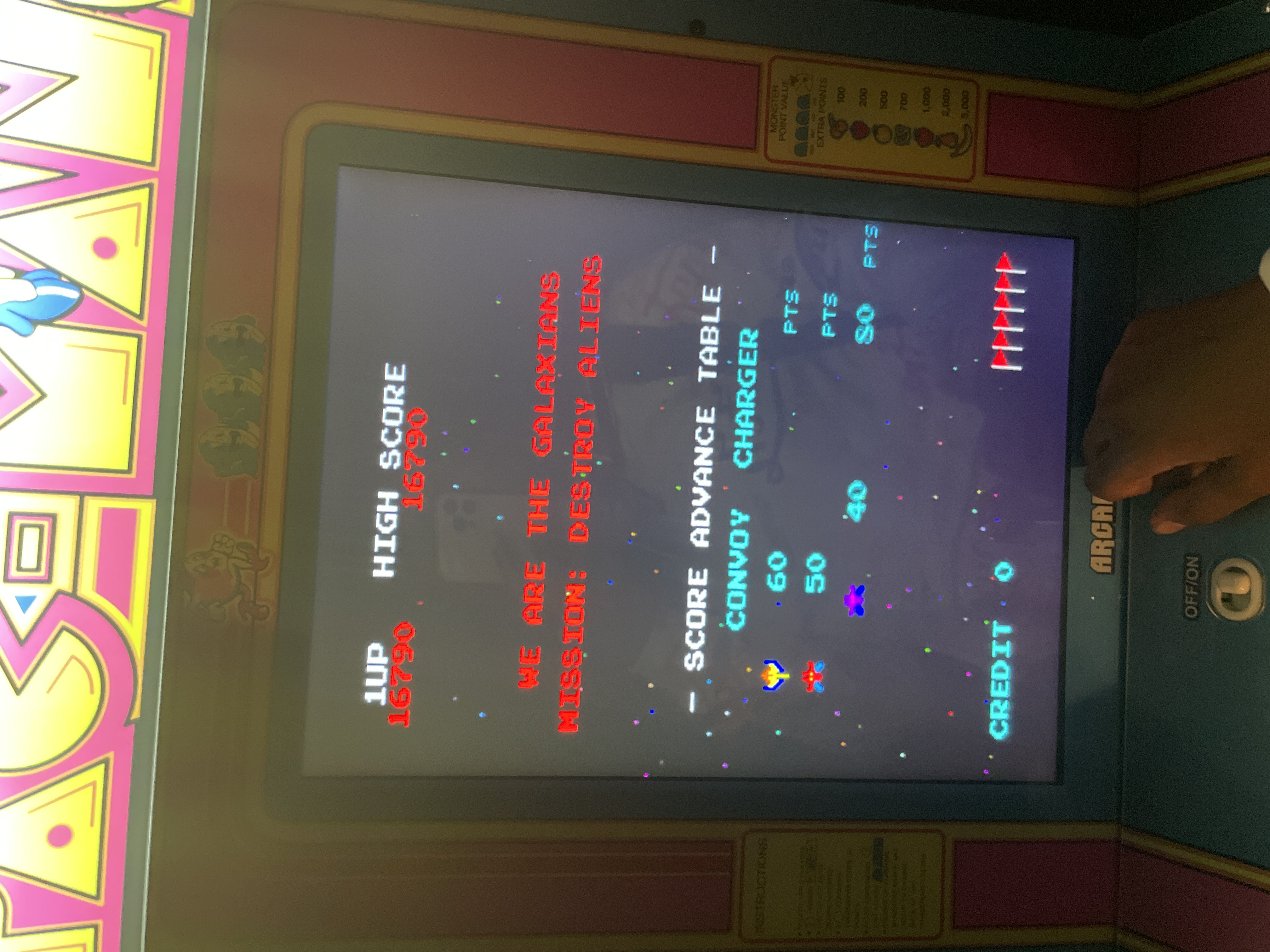 yayaludd: Galaxian Part 4 [galap4] (Arcade Emulated / M.A.M.E.) 16,790 points on 2021-04-05 21:06:47
