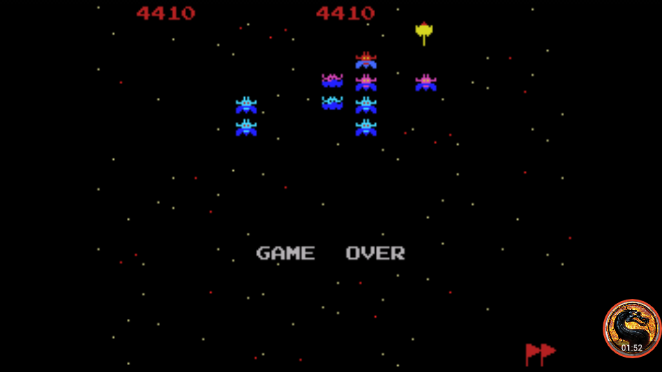 omargeddon: Galaxian [Skill 1] (Colecovision Emulated) 4,410 points on 2019-04-29 00:42:48