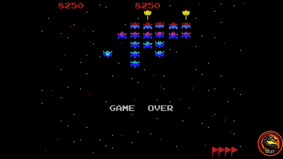 omargeddon: Galaxian [Skill 1] (Colecovision Emulated) 8,250 points on 2020-05-31 19:08:05