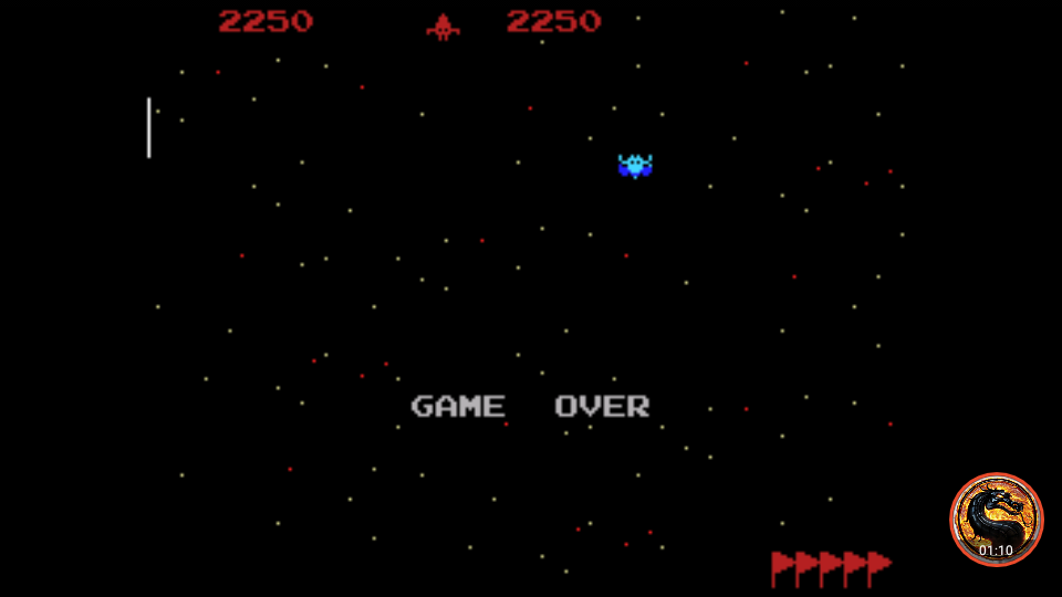 omargeddon: Galaxian [Skill 2] (Colecovision Emulated) 2,250 points on 2019-04-29 00:43:28