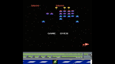 Galaxian [Skill 3] 5,800 points