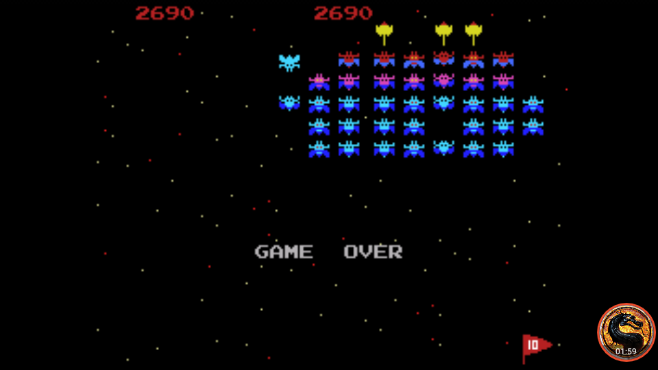 omargeddon: Galaxian [Skill 3] (Colecovision Emulated) 2,690 points on 2019-04-29 00:44:19