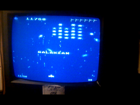 S.BAZ: Galaxian: Skill Level 6 (Atari 5200) 11,760 points on 2016-02-18 03:44:47