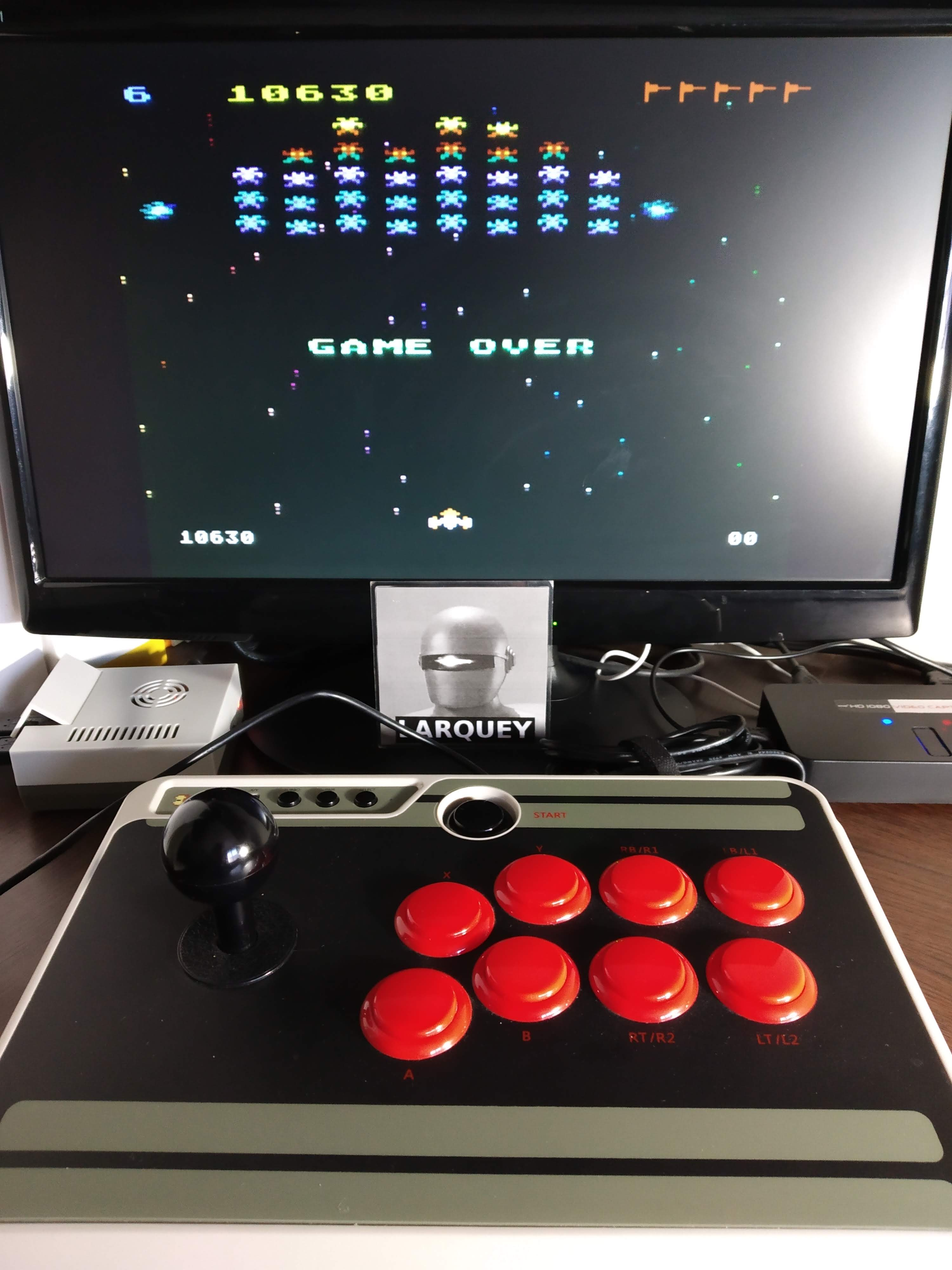 Galaxian: Skill Level 6 10,630 points