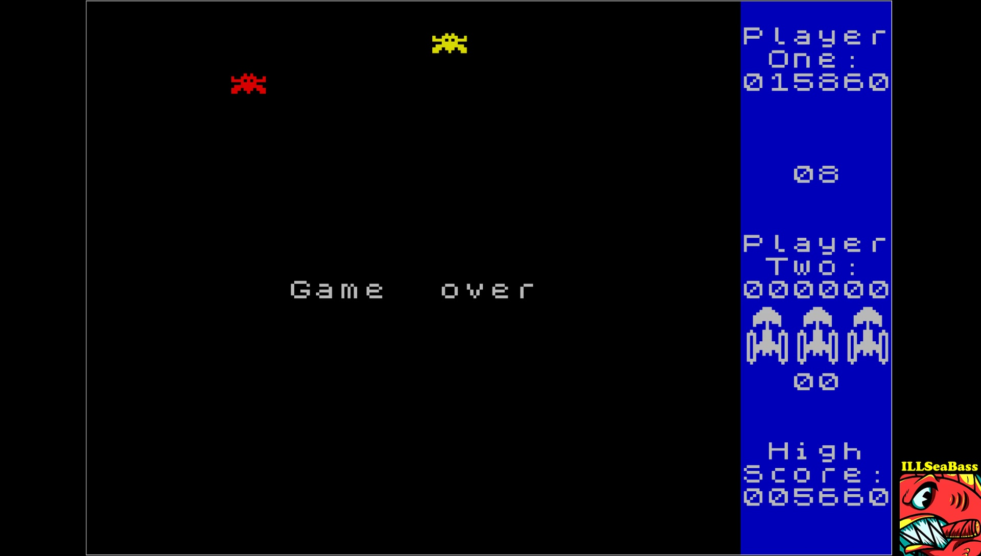 ILLSeaBass: Galaxians [Level 1 Start] (ZX Spectrum Emulated) 15,860 points on 2017-06-17 12:00:35