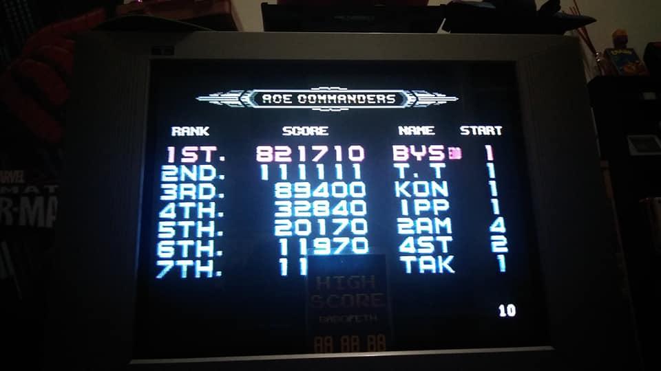 BabofetH: Galaxy Force II [Easy] (Sega Genesis / MegaDrive) 821,710 points on 2020-08-12 04:01:37