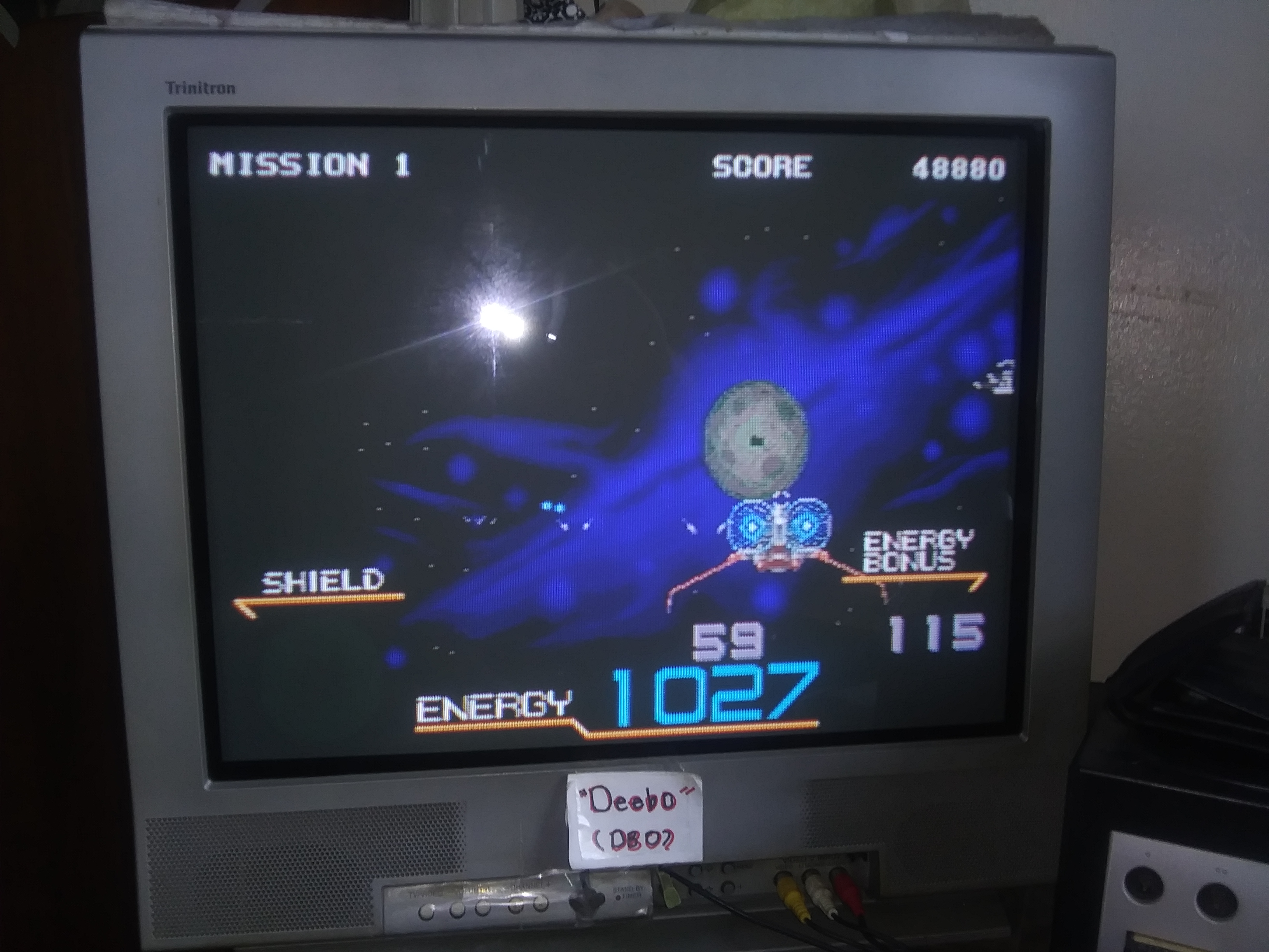 Deebo: Galaxy Force II [Hard] (Sega Genesis / MegaDrive) 48,880 points on 2019-07-17 16:45:20