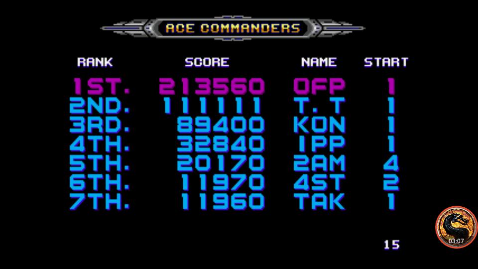 omargeddon: Galaxy Force II (Sega Genesis / MegaDrive Emulated) 213,560 points on 2019-04-04 09:52:50