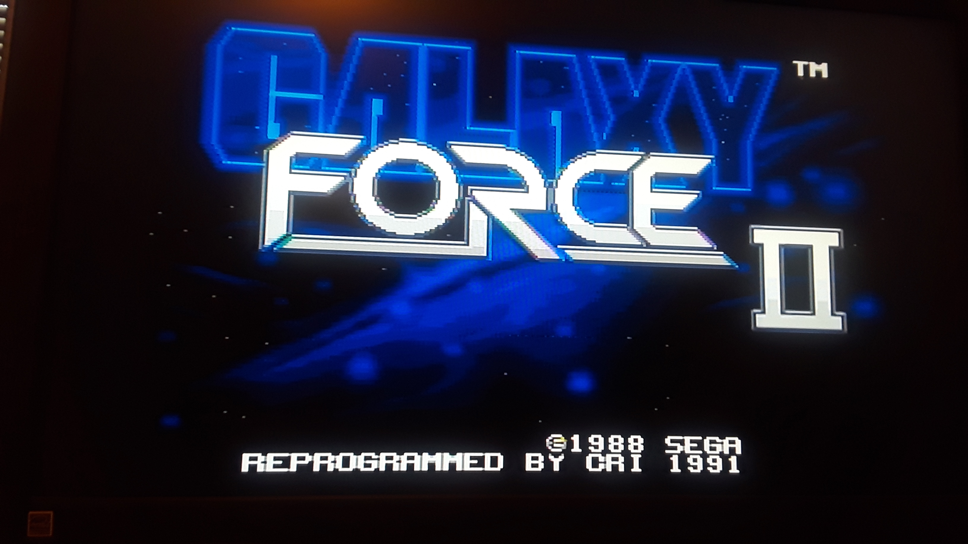 Galaxy Force II 331,010 points