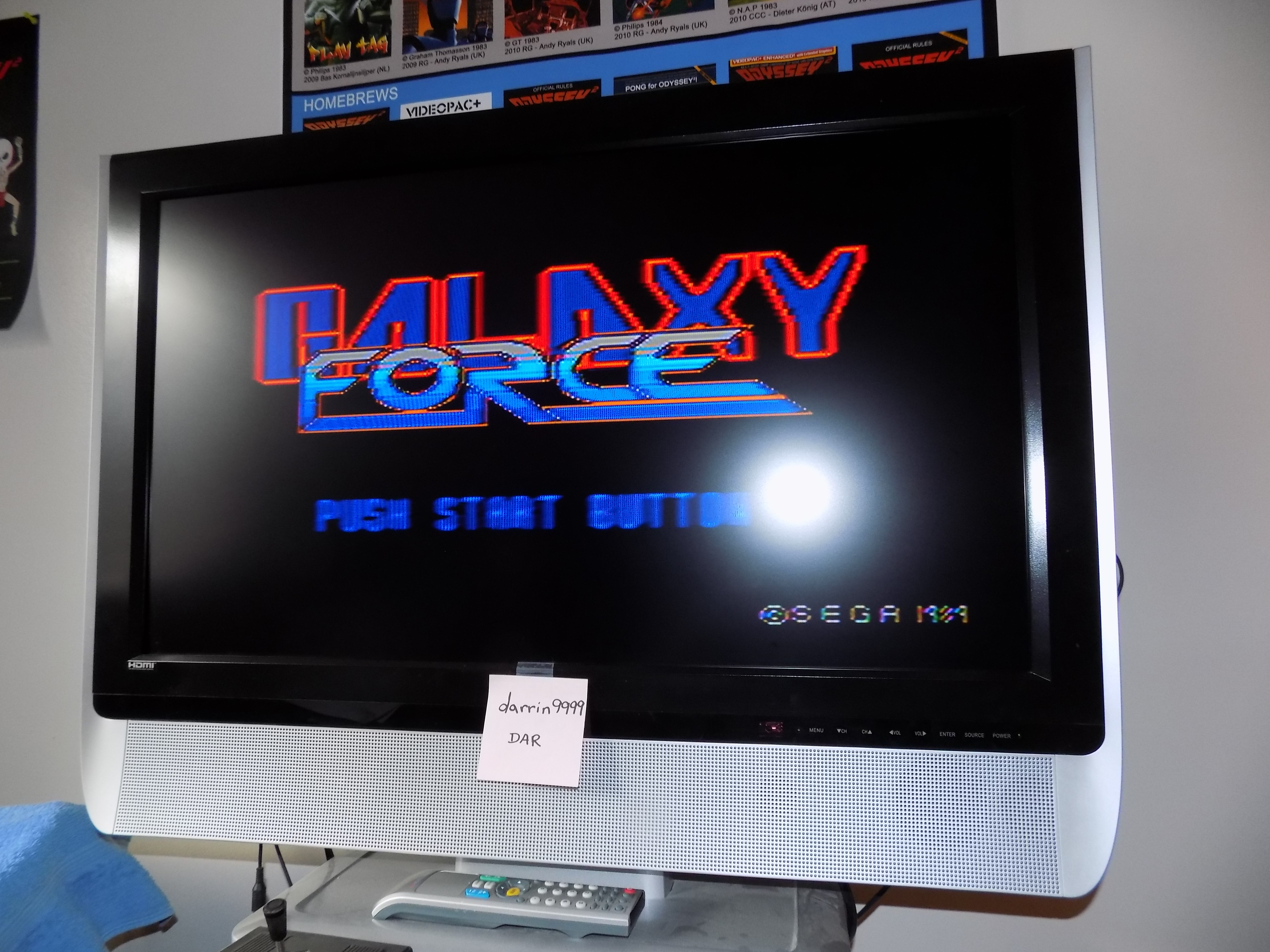 darrin9999: Galaxy Force (Sega Master System) 19,400 points on 2017-01-26 14:52:36