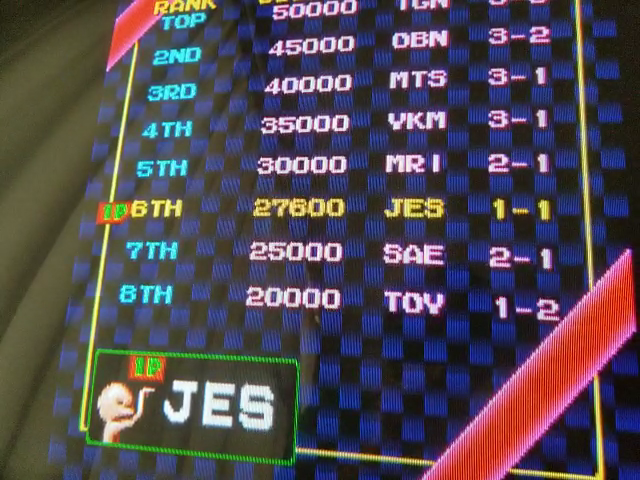 JES: Gals Panic [galsnew] (Arcade Emulated / M.A.M.E.) 27,600 points on 2018-05-17 18:33:08