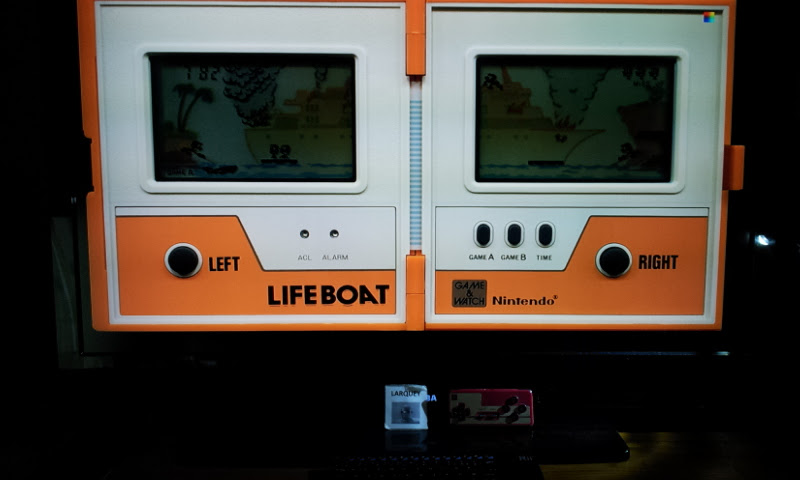 Game & Watch: Lifeboat [Game A] 782 points