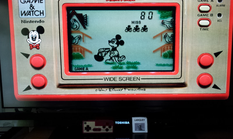 Game & Watch: Mickey Mouse [Game A] 80 points