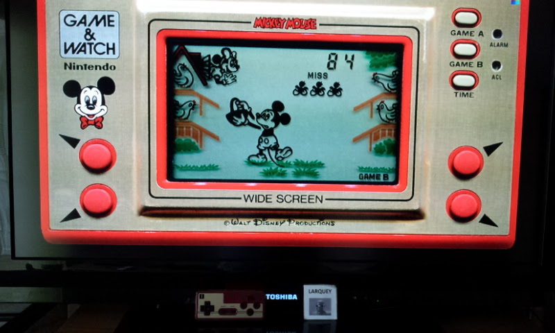 Game & Watch: Mickey Mouse [Game B] 84 points