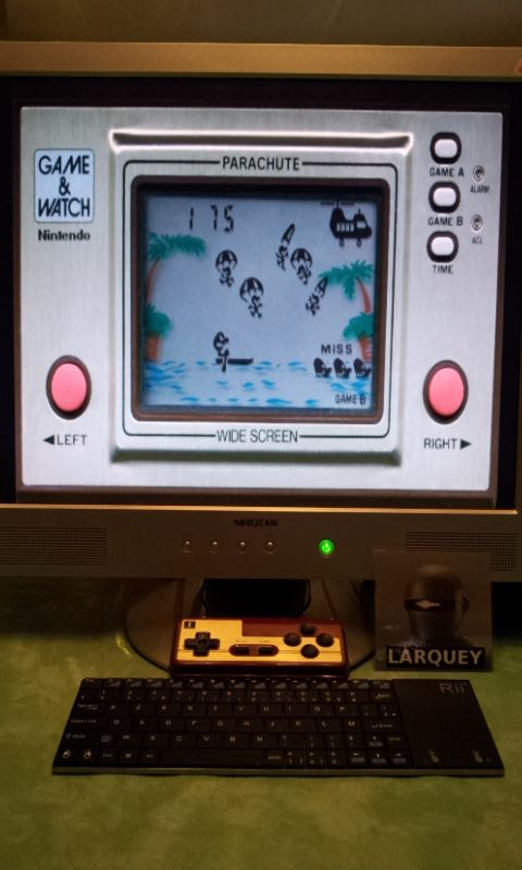 Game & Watch: Parachute [Game B] 175 points