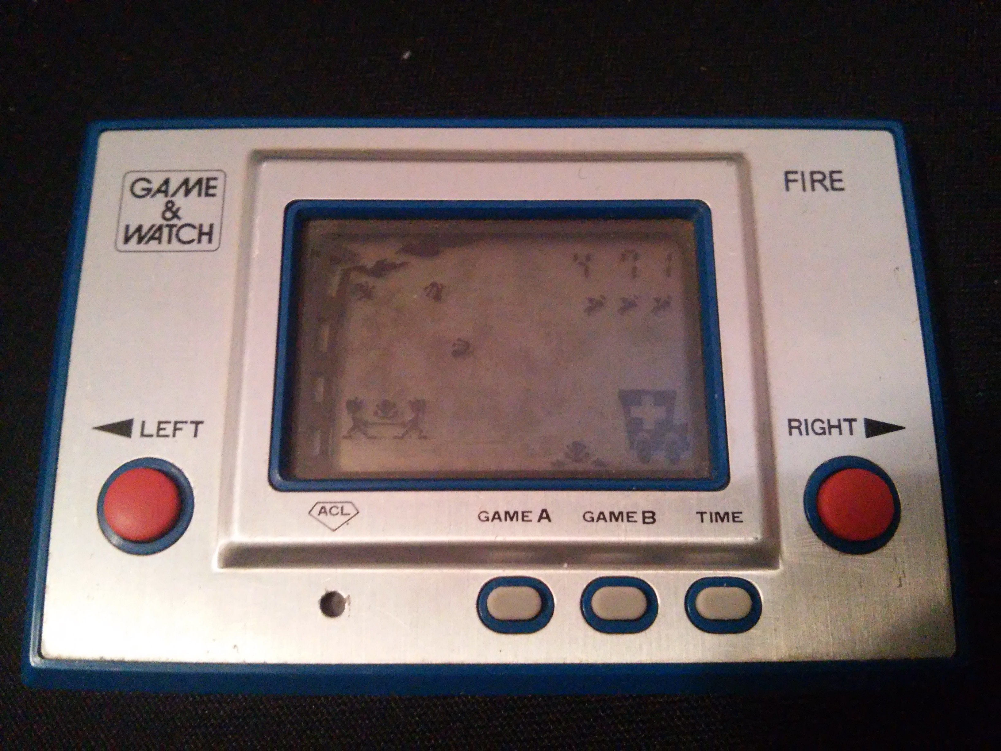 zerooskul: Game & Watch: Fire [aka Fireman Fireman] [Game A] (Dedicated Handheld) 471 points on 2019-01-05 13:14:01