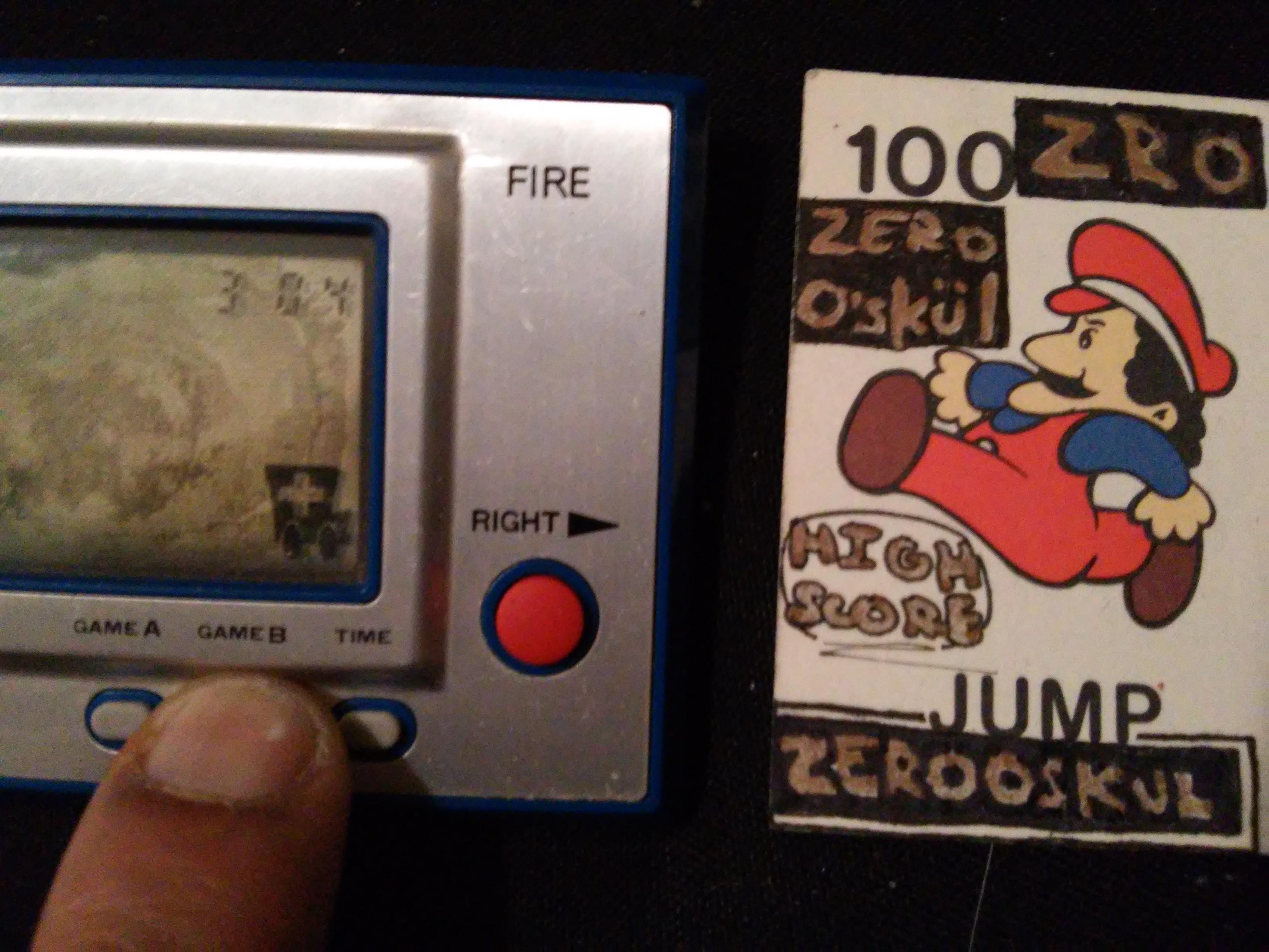 zerooskul: Game & Watch: Fire [aka Fireman Fireman] [Game B] (Dedicated Handheld) 304 points on 2019-01-27 21:38:12