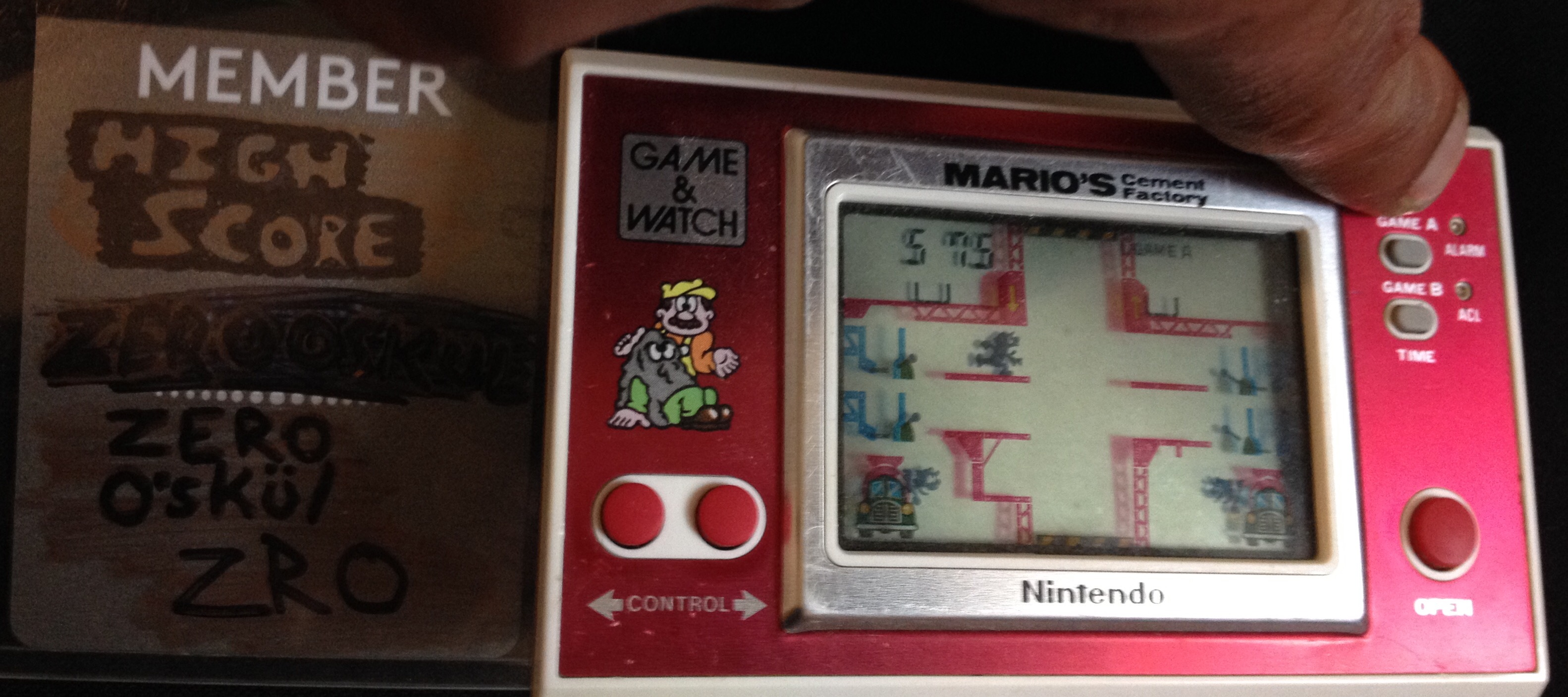 Game & Watch: Mario