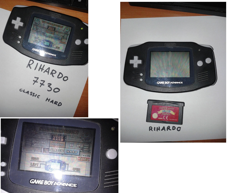 Rihardo: Game & Watch Gallery 4: Mario