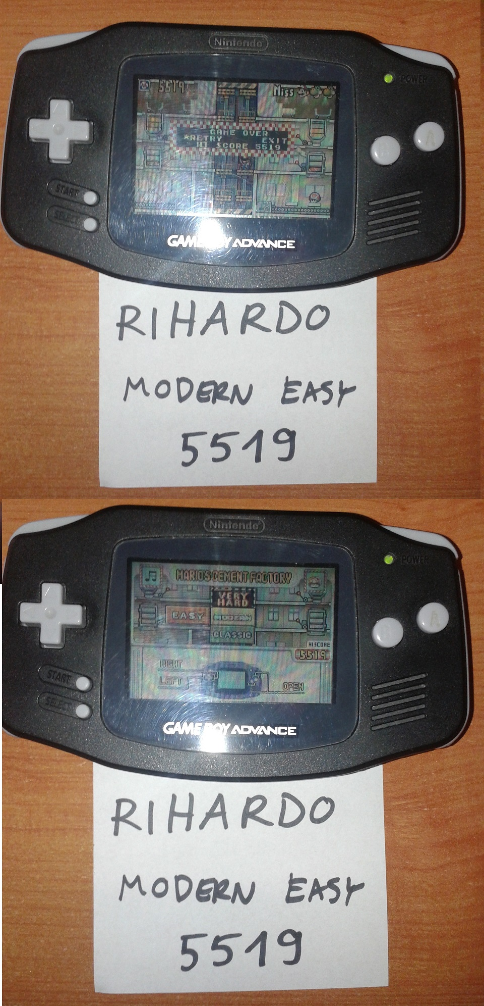 Rihardo: Game & Watch Gallery 4: Mario