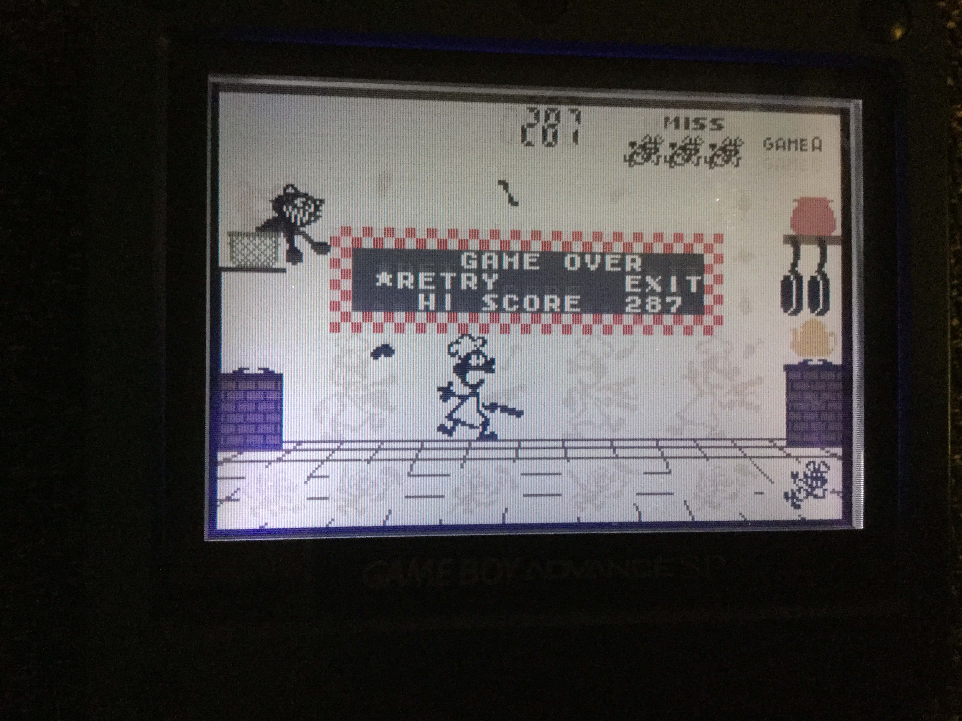 Frankie: Game & Watch Gallery 4: Chef [Classic: Easy] (GBA) 287 points on 2018-05-02 15:38:02