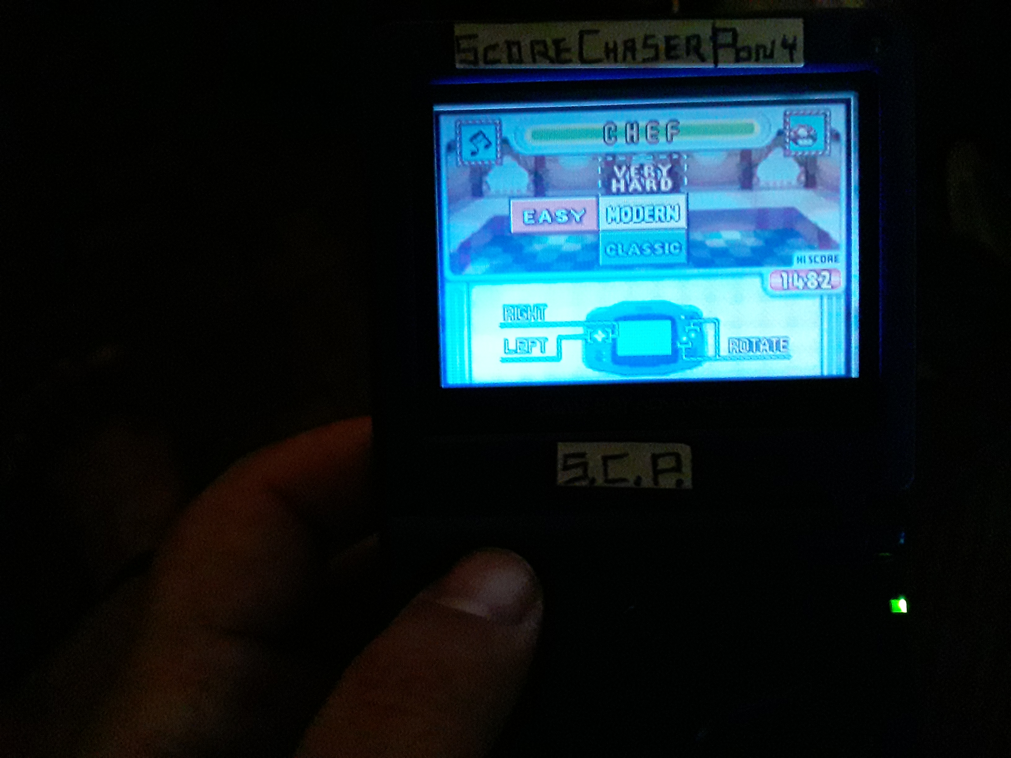 Scorechaserpony: Game & Watch Gallery 4: Chef [Modern: Easy] (GBA) 1,482 points on 2019-07-31 16:33:53