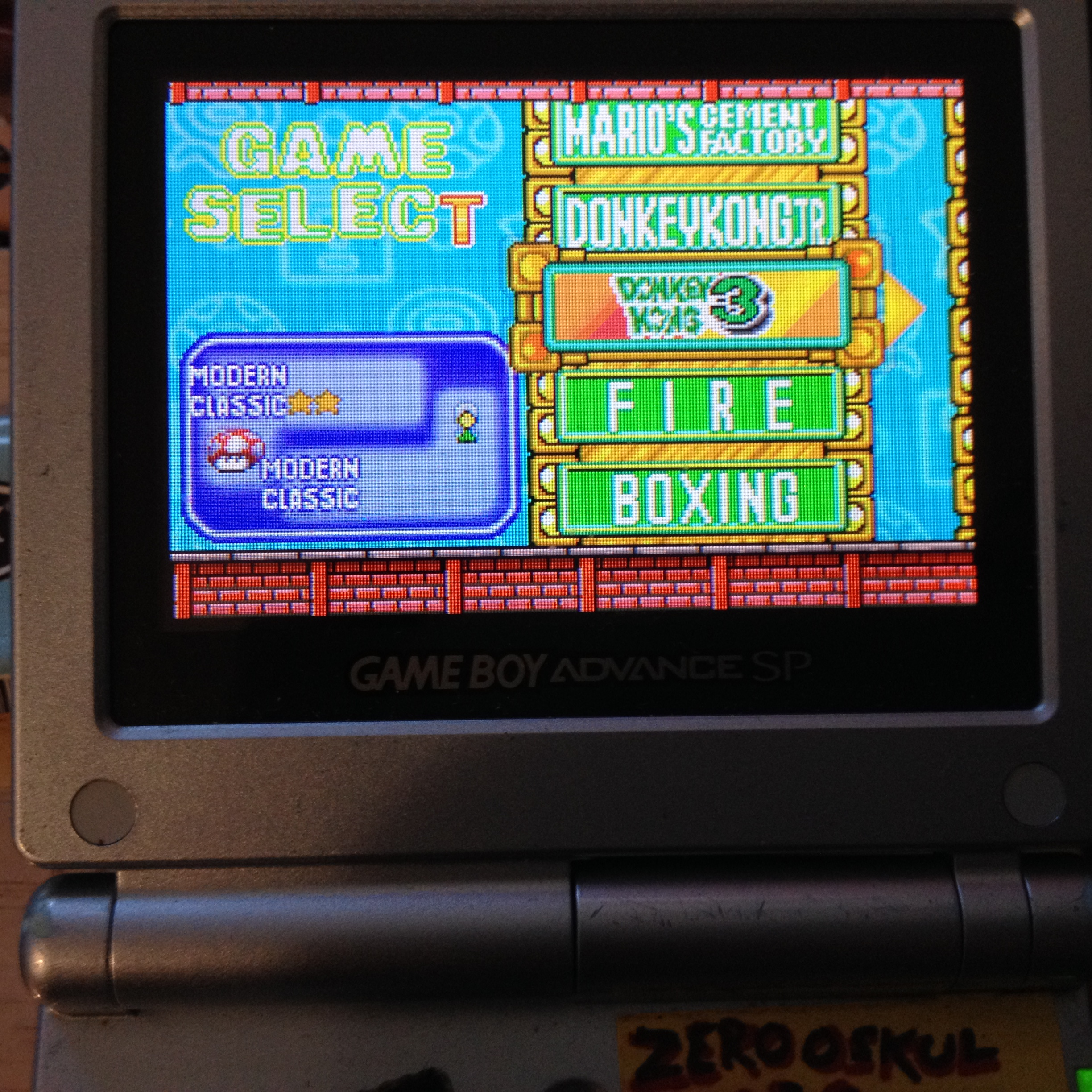 zerooskul: Game & Watch Gallery 4: Donkey Kong 3 [Classic: Game A] (GBA) 513 points on 2019-08-09 18:13:30