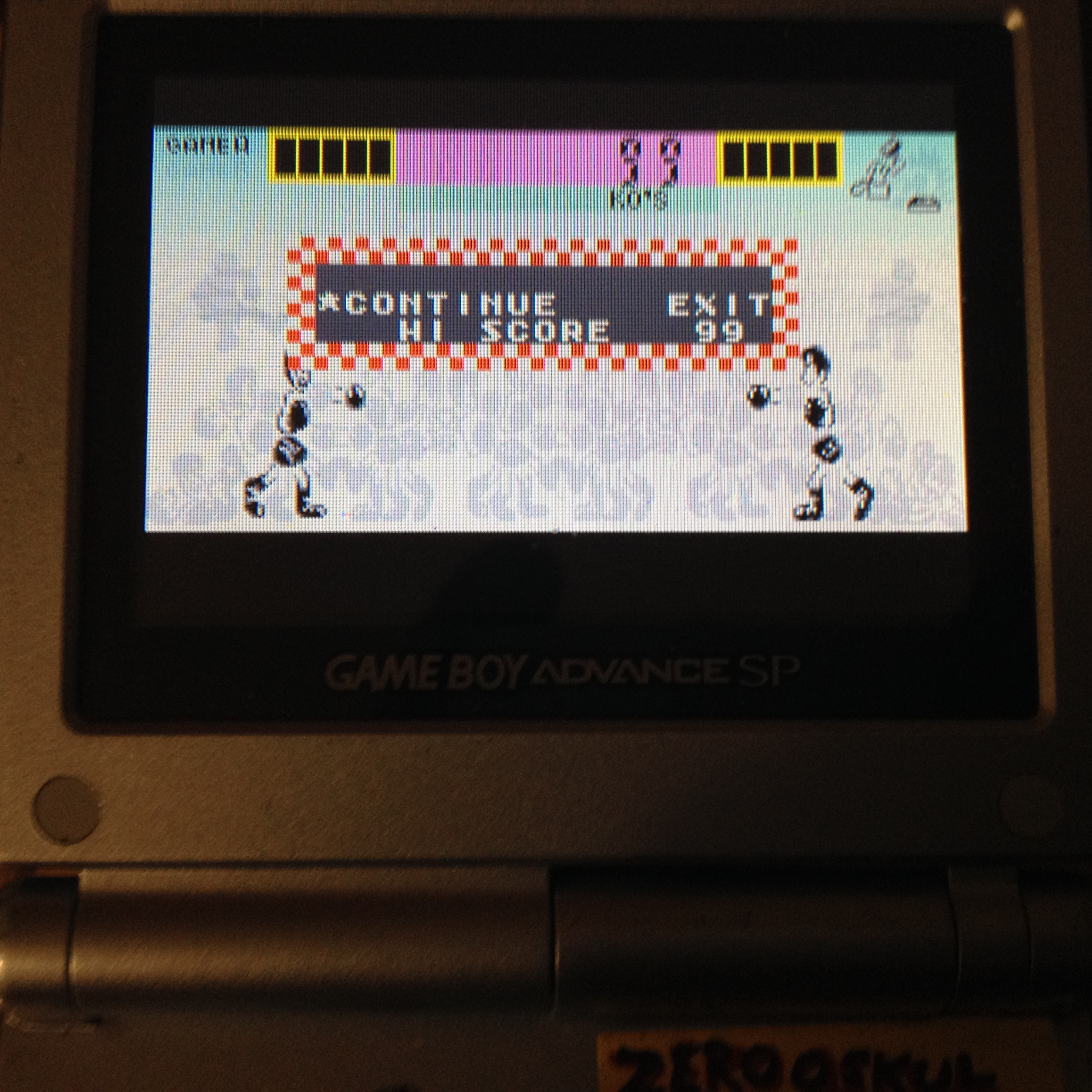 zerooskul: Game & Watch Gallery 4: Boxing [Classic: Game A] (GBA) 99 points on 2019-08-10 01:20:58
