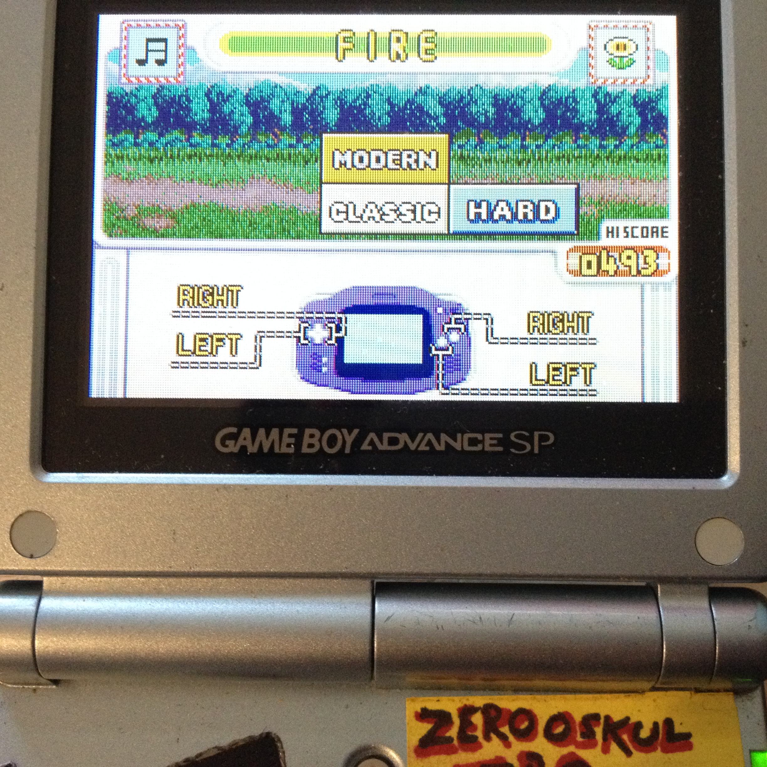 zerooskul: Game & Watch Gallery 4: Fire [Classic: Hard] (GBA) 493 points on 2019-08-10 11:58:00