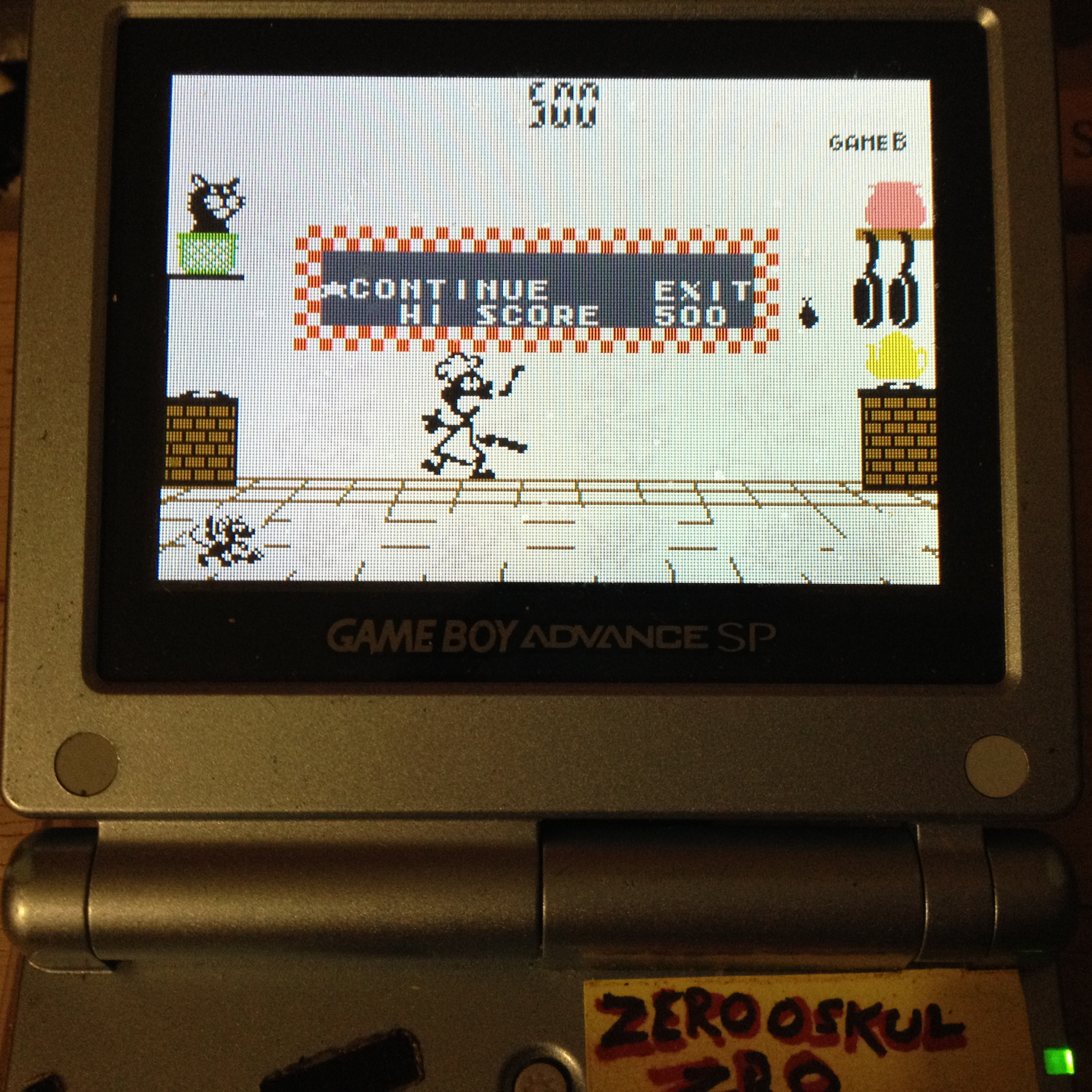 zerooskul: Game & Watch Gallery 4: Chef [Classic: Hard] (GBA) 788 points on 2019-08-10 20:12:09
