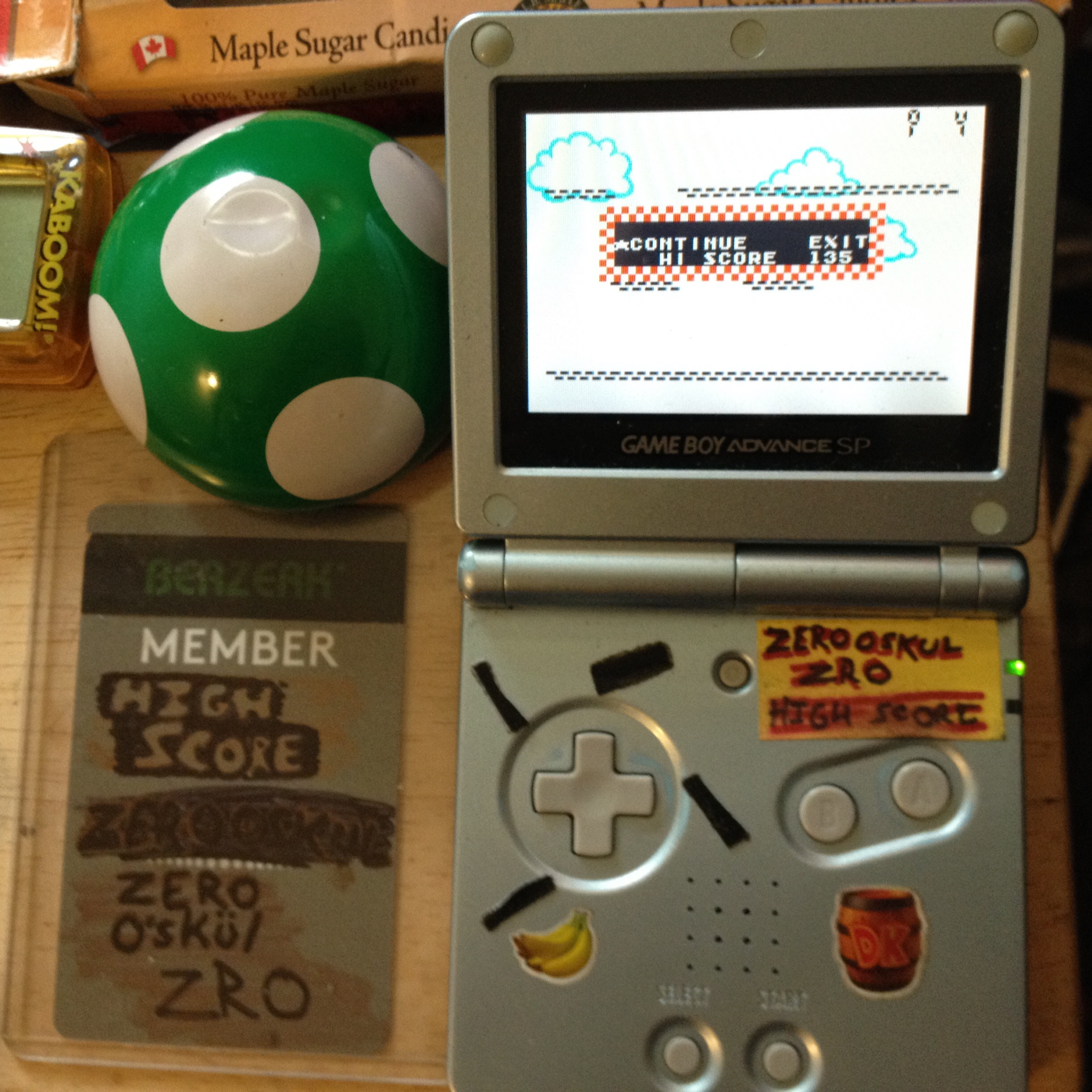 zerooskul: Game & Watch Gallery 4: Climber (GBA) 171 points on 2019-08-15 14:10:44