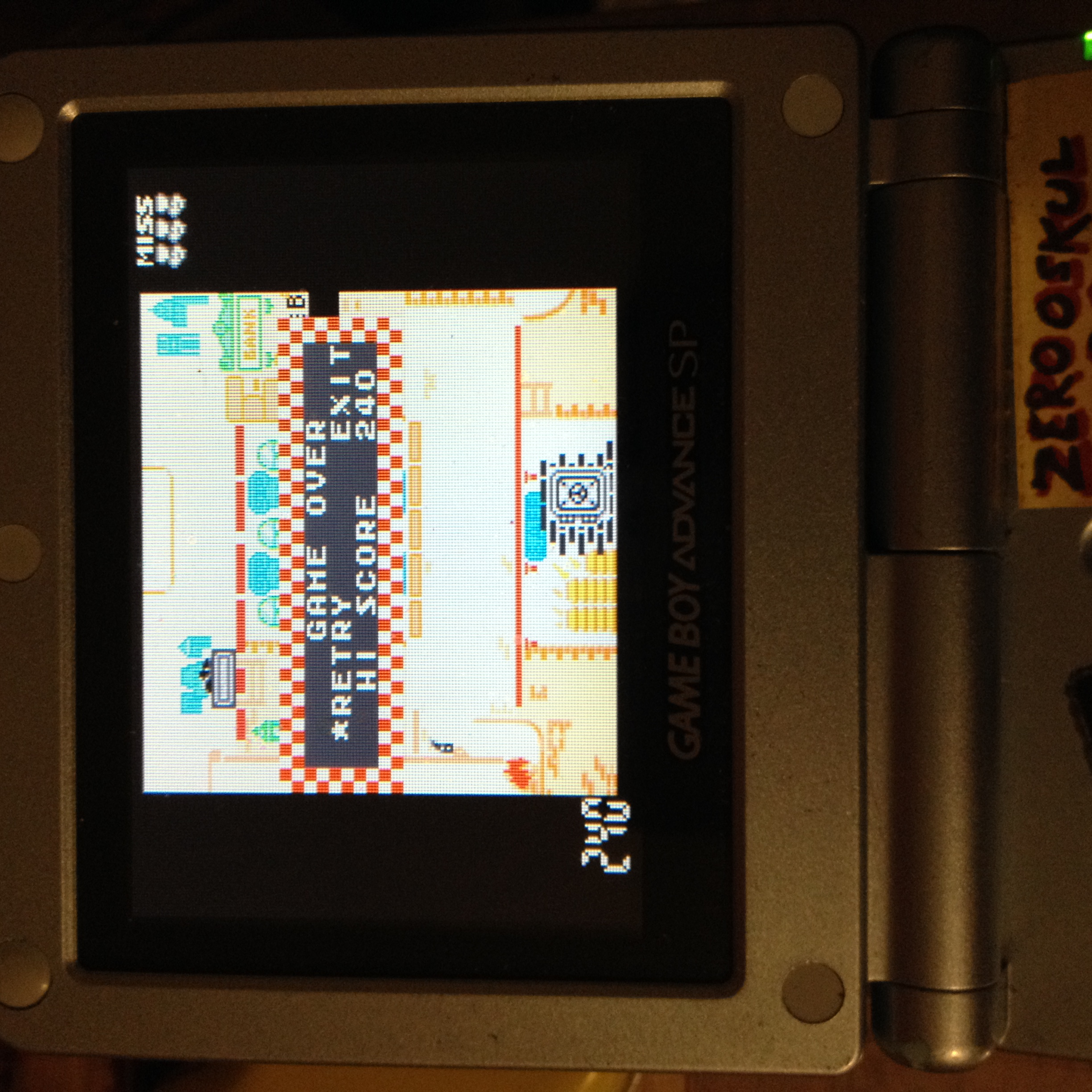 zerooskul: Game & Watch Gallery 4: Safe Buster [Classic-Hard] (GBA) 240 points on 2019-08-25 01:17:57
