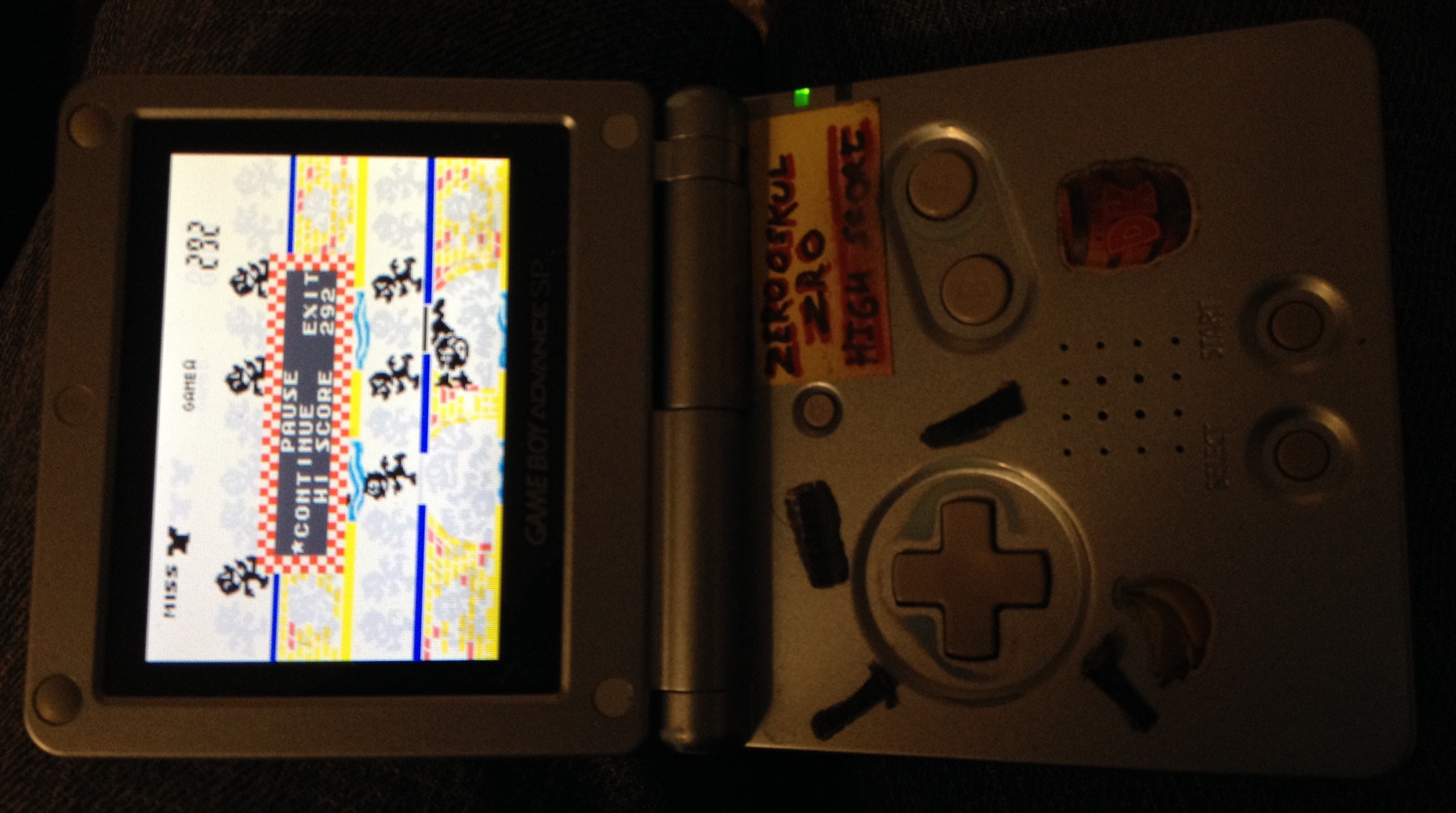 zerooskul: Game & Watch Gallery 4: Manhole [Classic: Easy] (GBA) 298 points on 2019-11-24 17:37:22