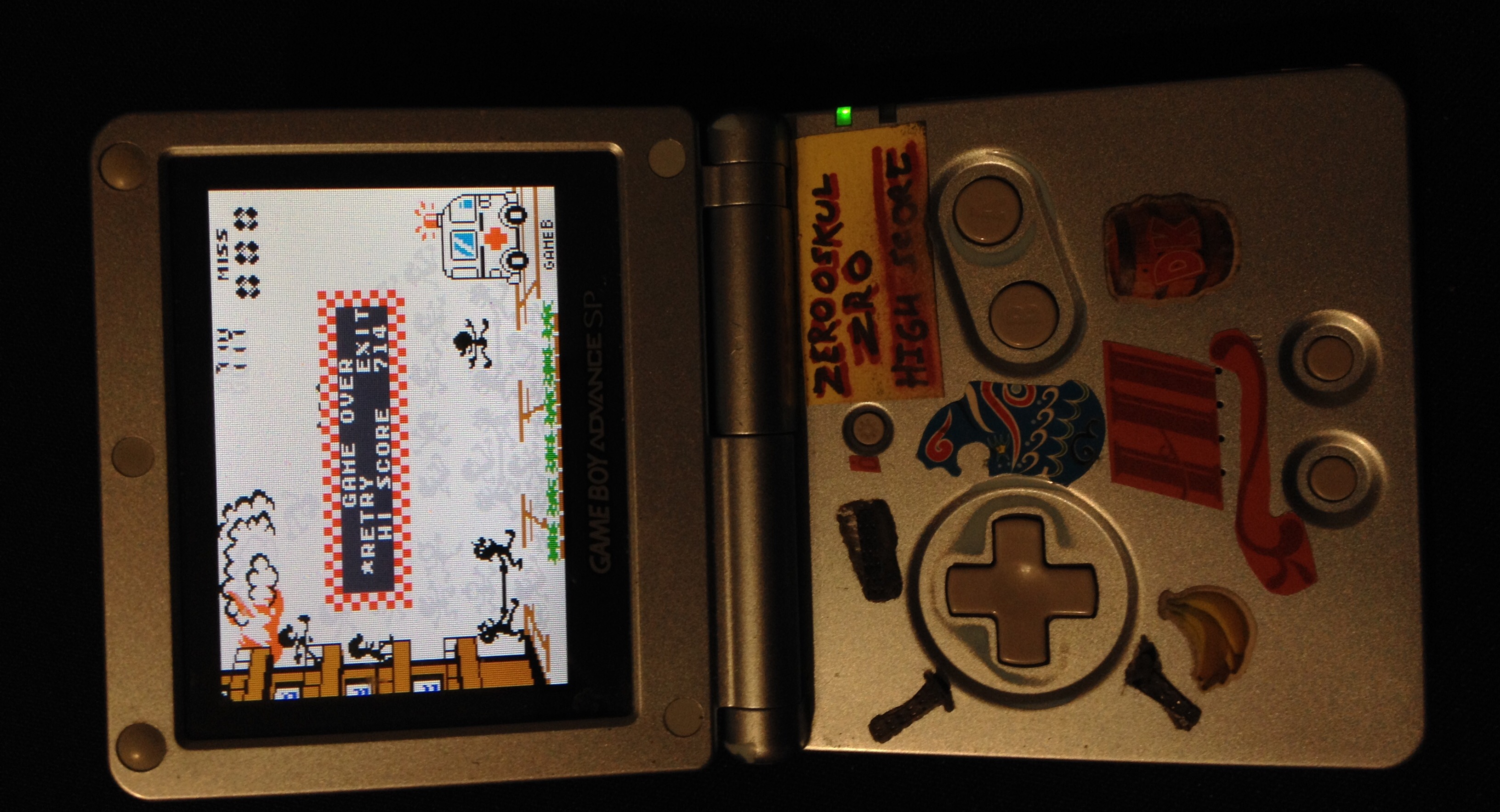 zerooskul: Game & Watch Gallery 4: Fire [Classic: Hard] (GBA) 714 points on 2019-12-13 20:04:23