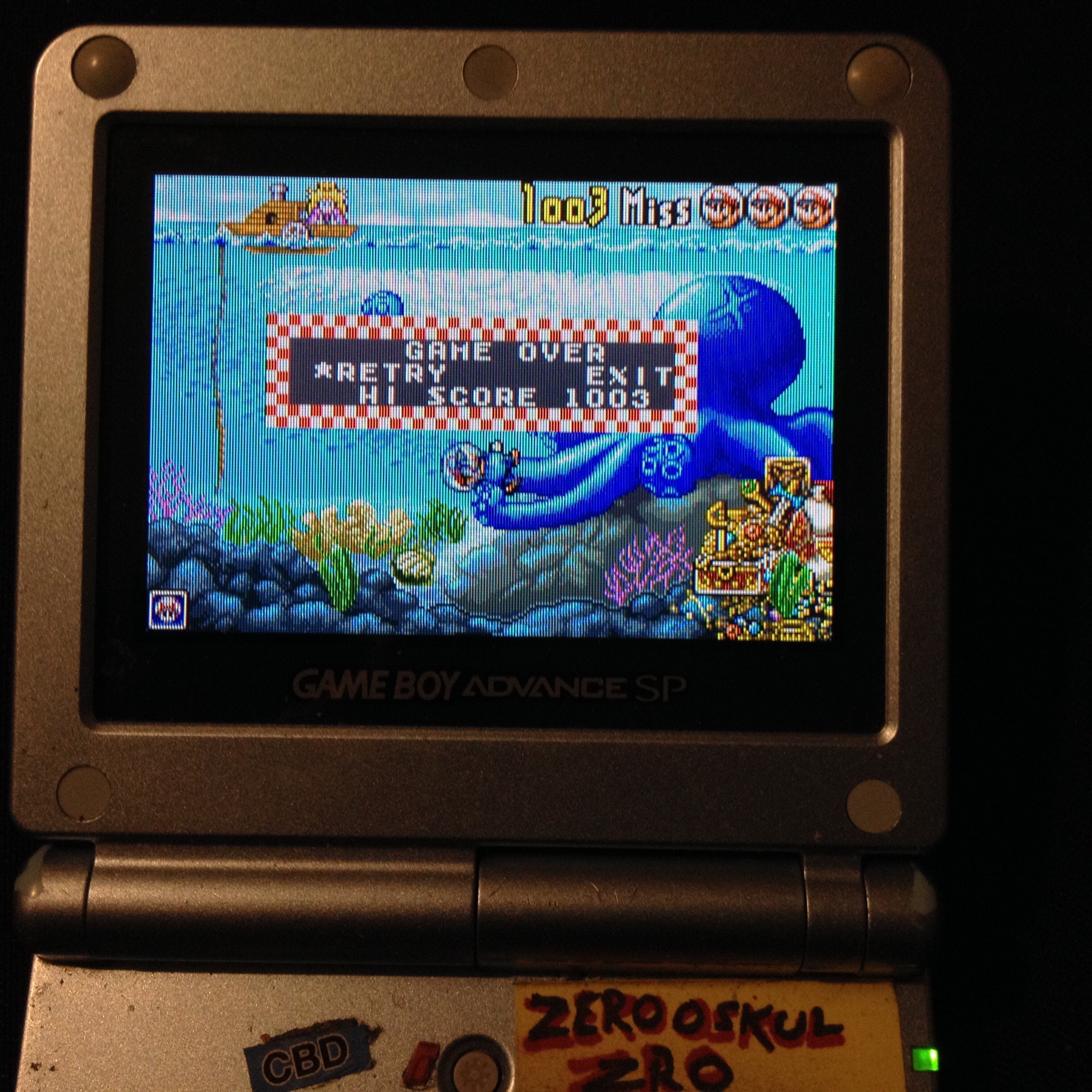 Game & Watch Gallery 4: Octopus [Modern: Easy] 1,003 points