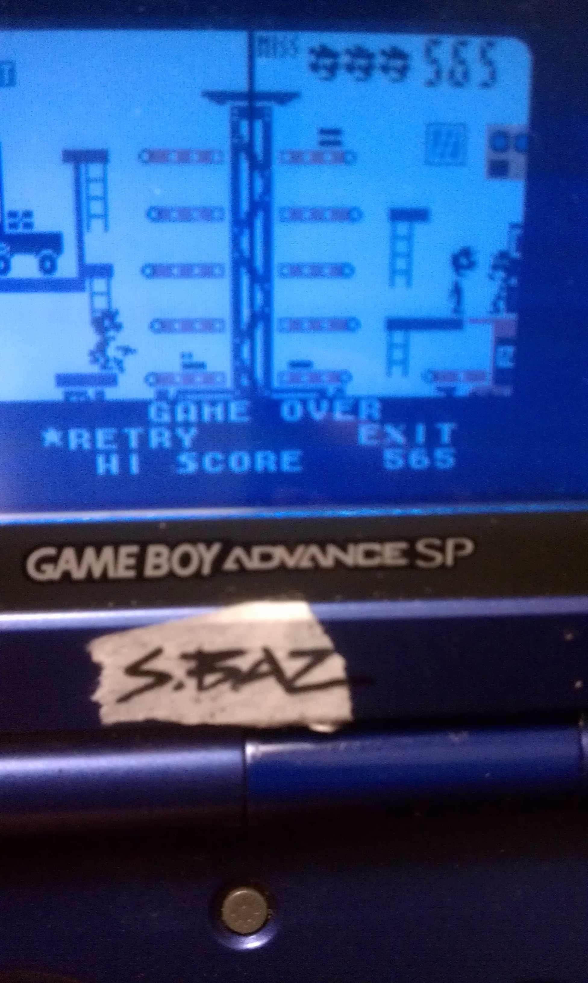 Game & Watch Gallery 3: Mario Bros: Classic: Hard 565 points