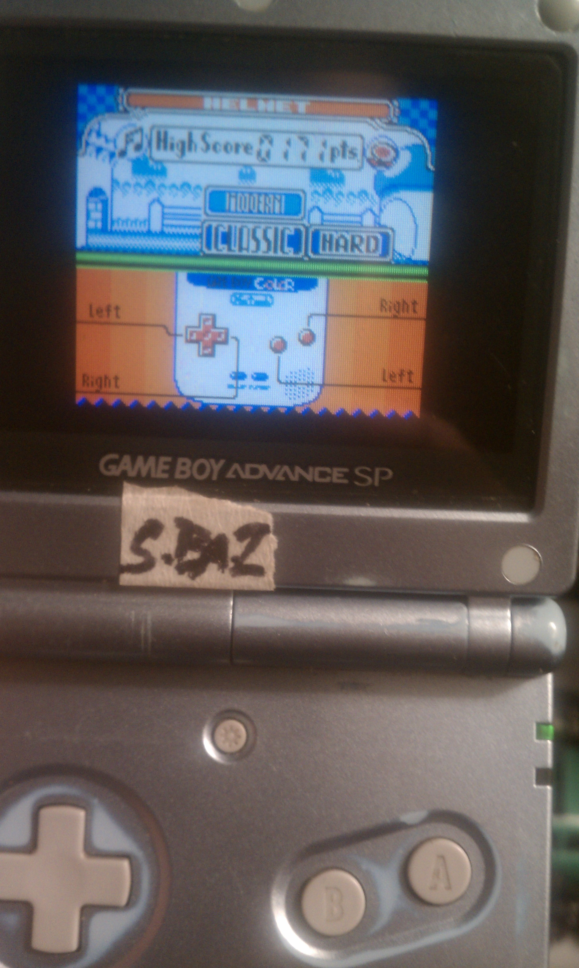 S.BAZ: Game & Watch Gallery 2: Helmet: Classic: Hard (Game Boy Color) 171 points on 2016-02-01 02:54:58