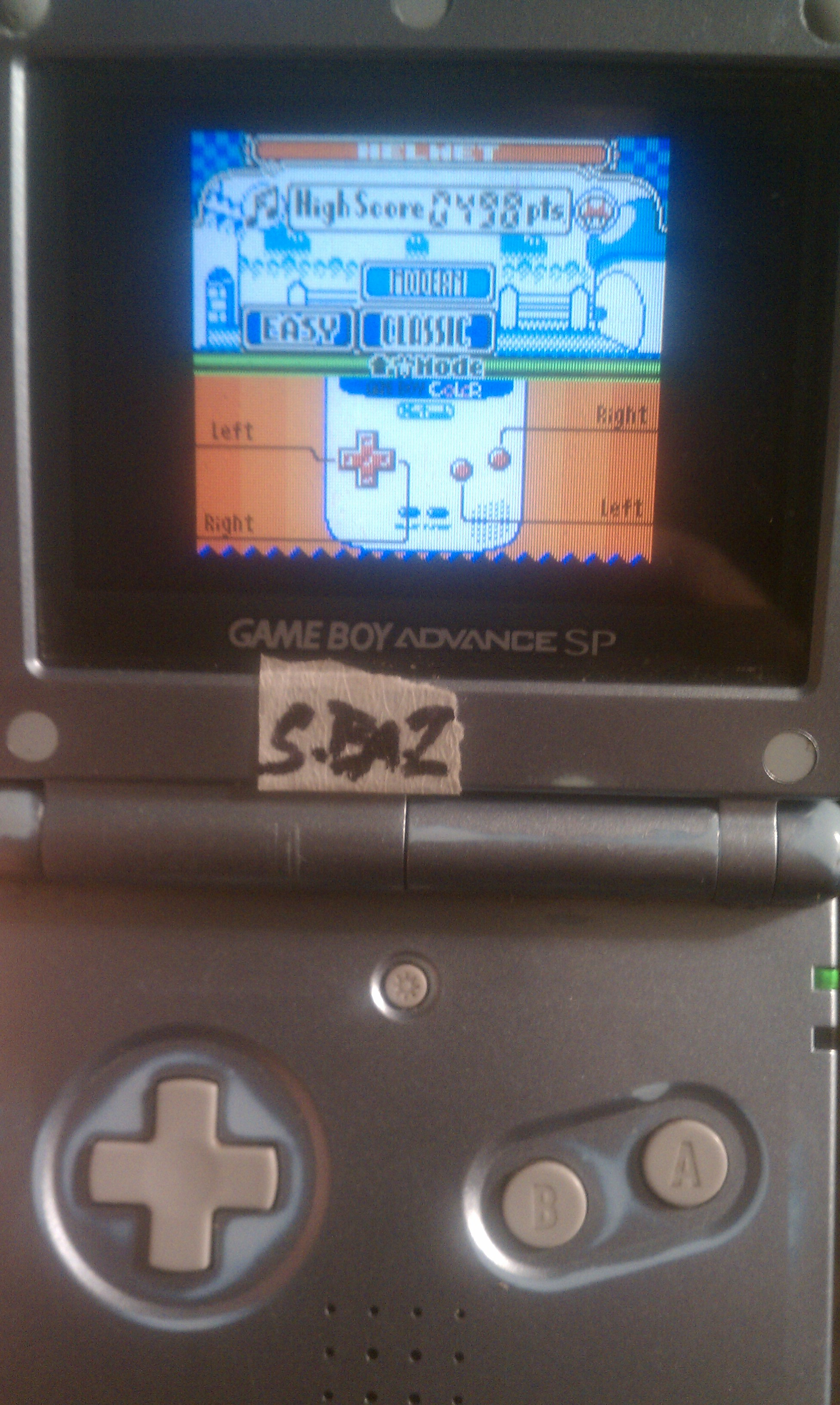 S.BAZ: Game & Watch Gallery 2: Helmet: Classic: Easy (Game Boy Color) 498 points on 2016-06-25 15:48:30