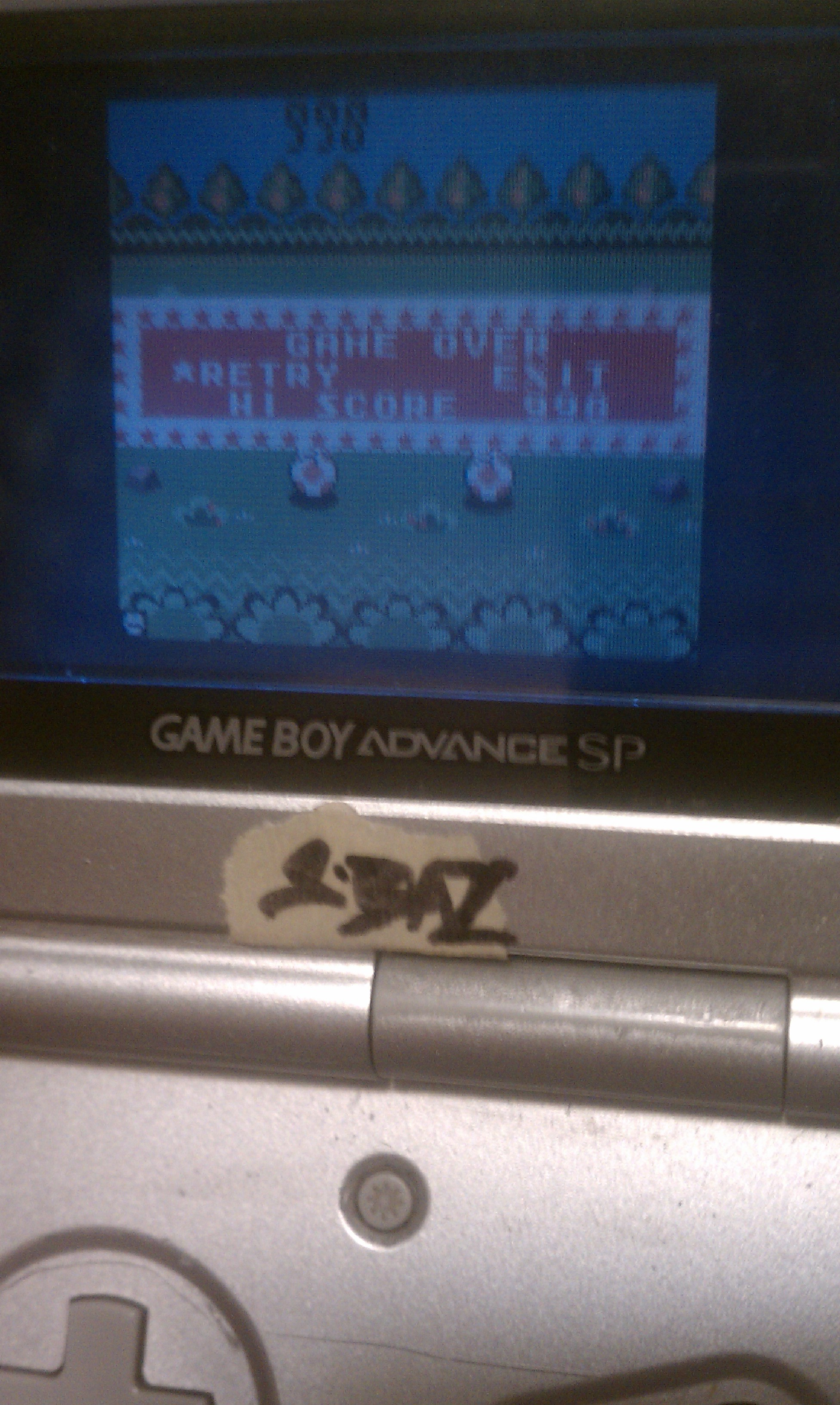 S.BAZ: Game & Watch Gallery 2: Vermin: Modern: Easy (Game Boy Color) 998 points on 2016-06-26 12:51:15